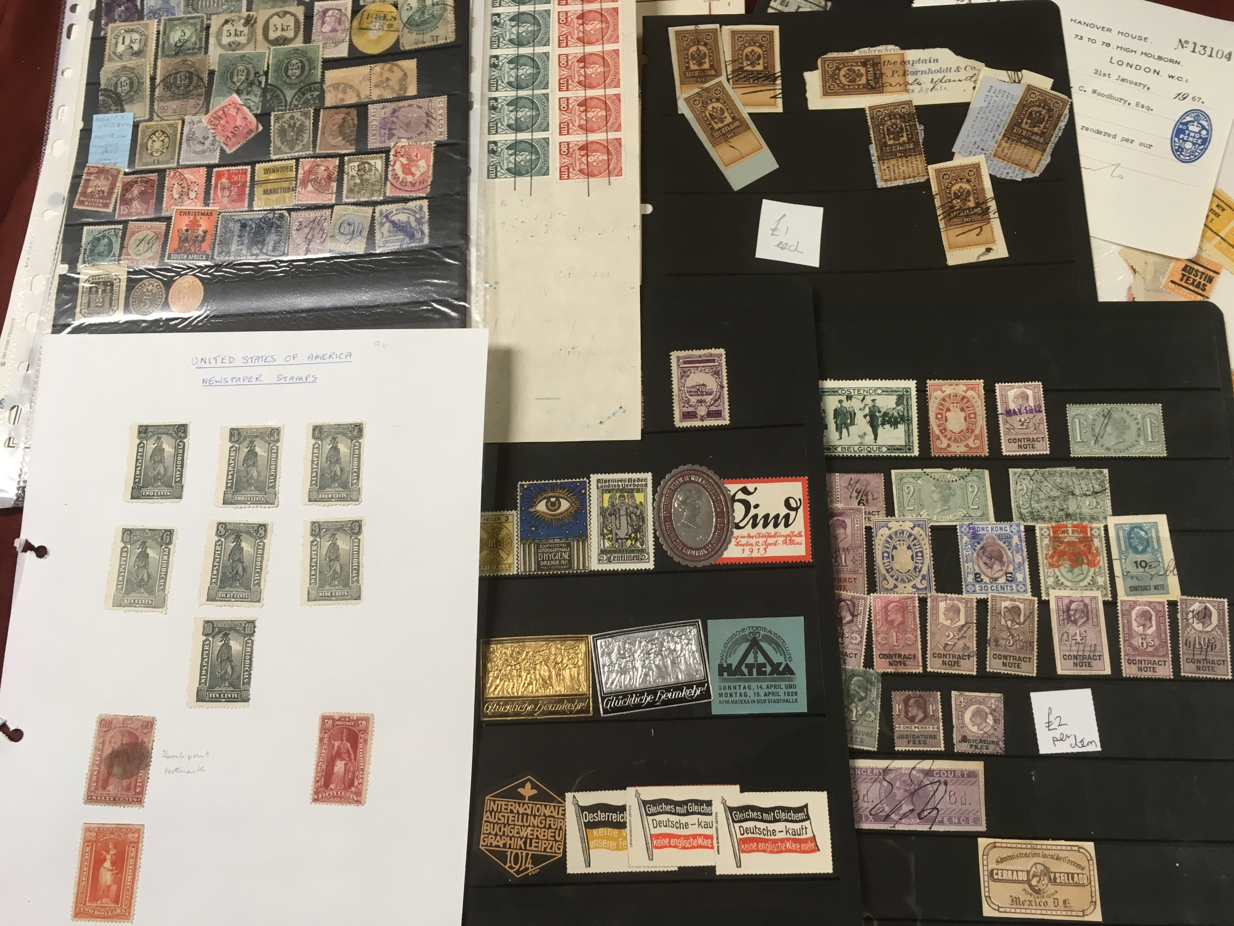 BOX WITH AN ECLECTIC MIX REVENUES, PERFI - Image 2 of 4