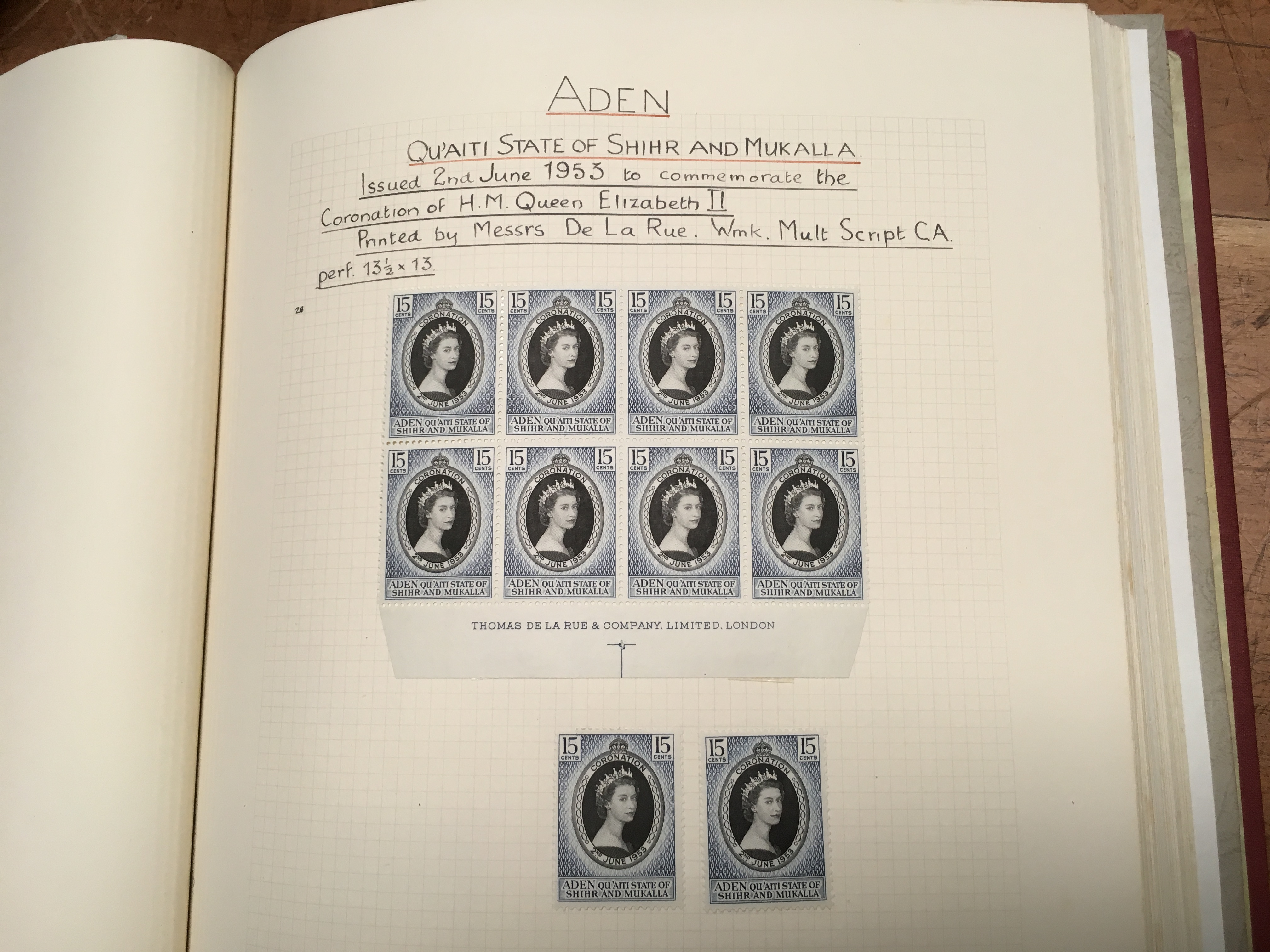 BOX WITH QE2 OG OR USED COLLECTION TO AB - Image 2 of 6