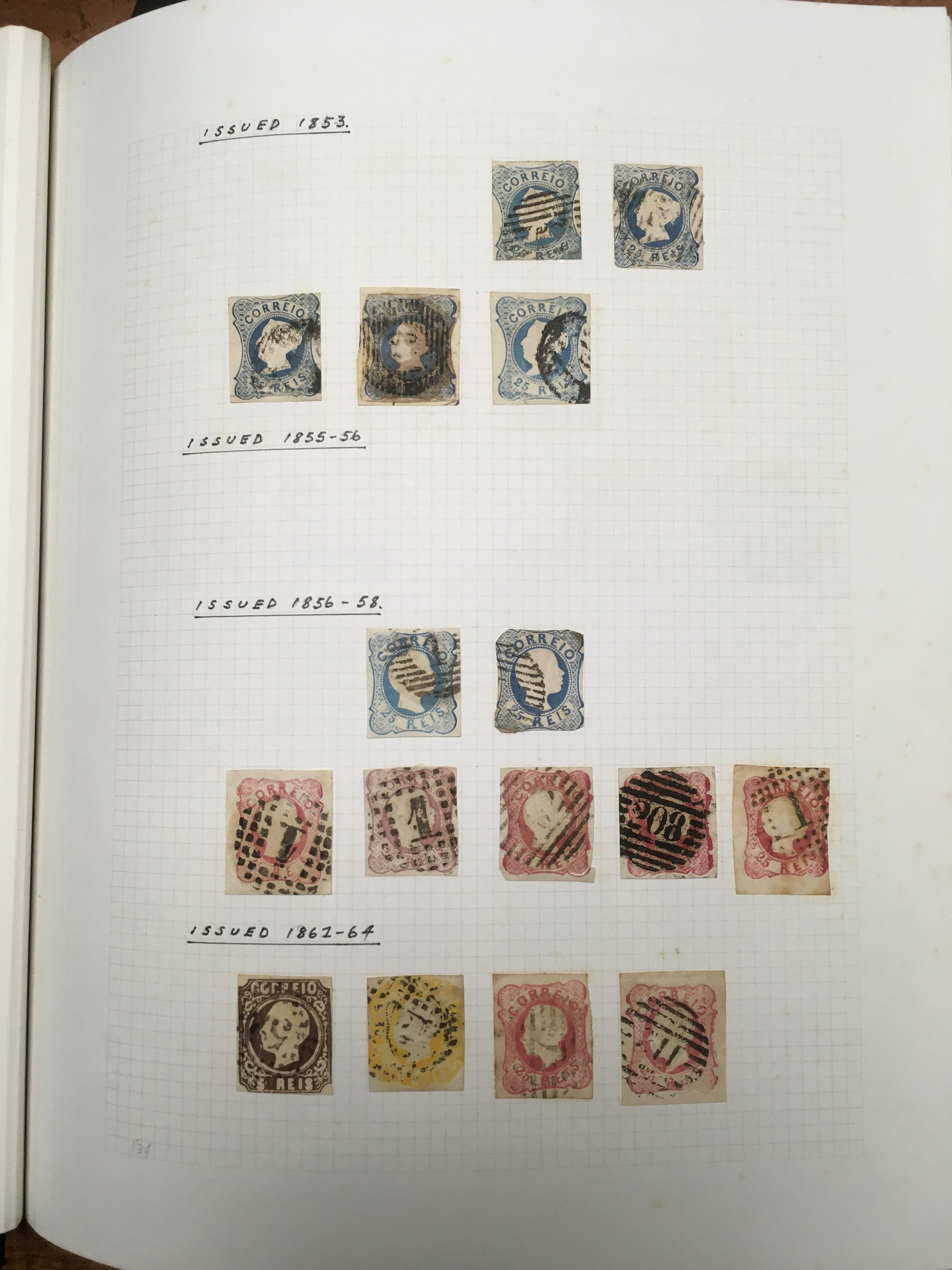 PORTUGAL: 1853-1987 MAINLY USED COLLECTI
