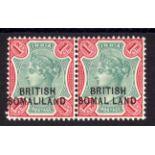 SOMALILAND: 1903 1r 'SOMAL.LAND' VARIETY