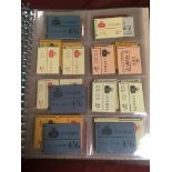 GB BOOKLETS: 1953-67 COLLECTION WILDING