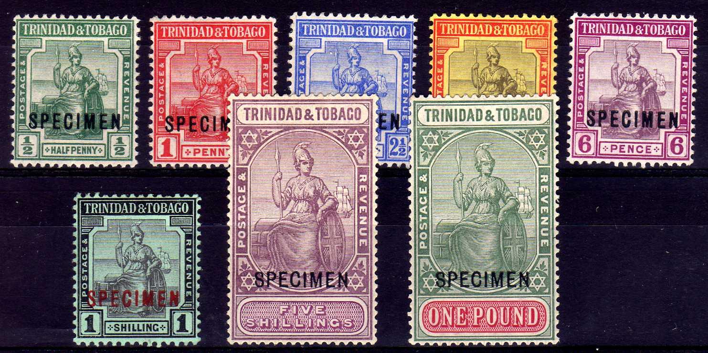 TRINIDAD AND TOBAGO: 1913-23 BASIC SET O