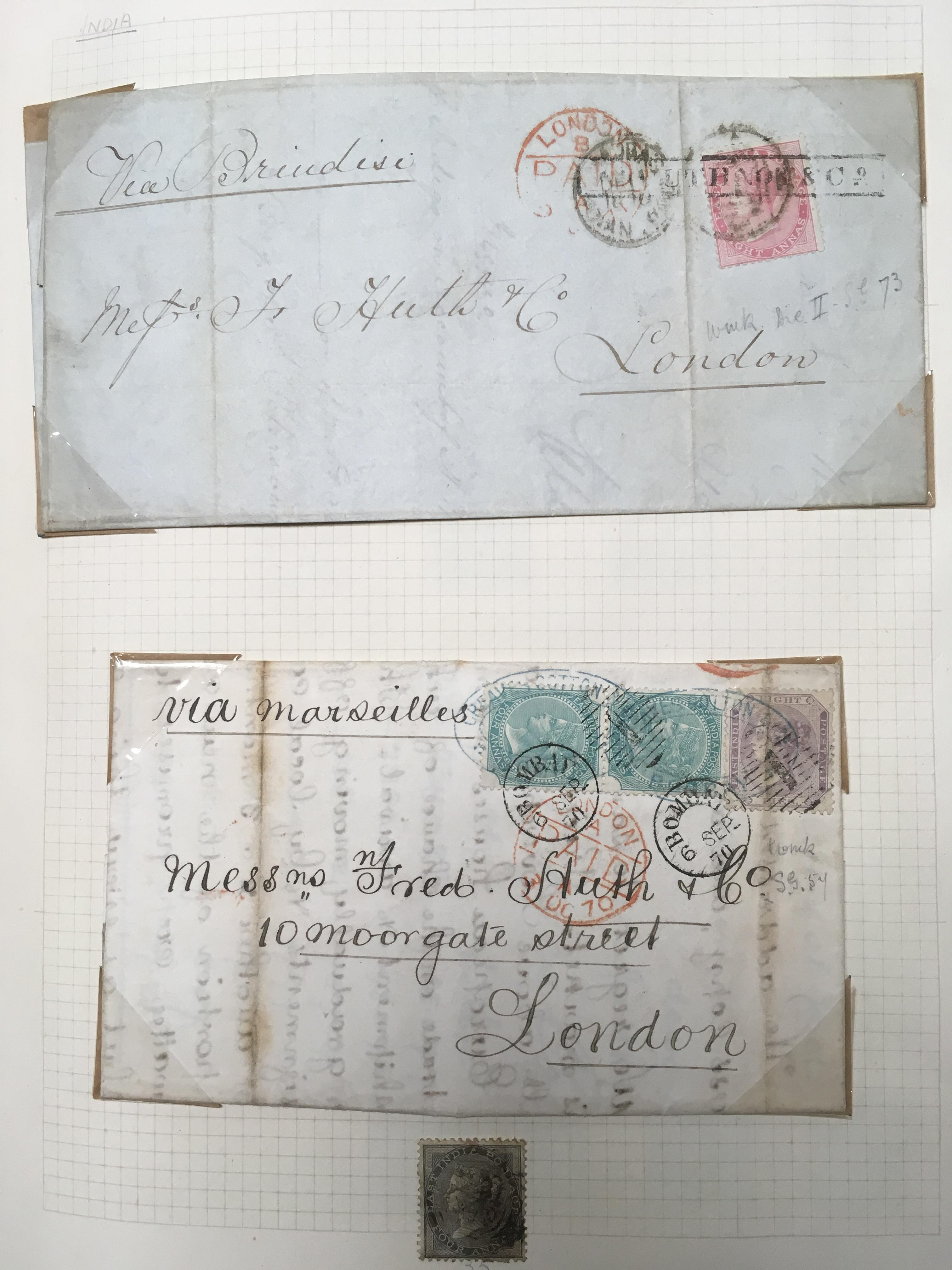 INDIA: 1865-1991 MAINLY USED COLLECTION