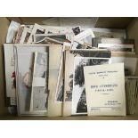 BOX OF MIXED EPHEMERA