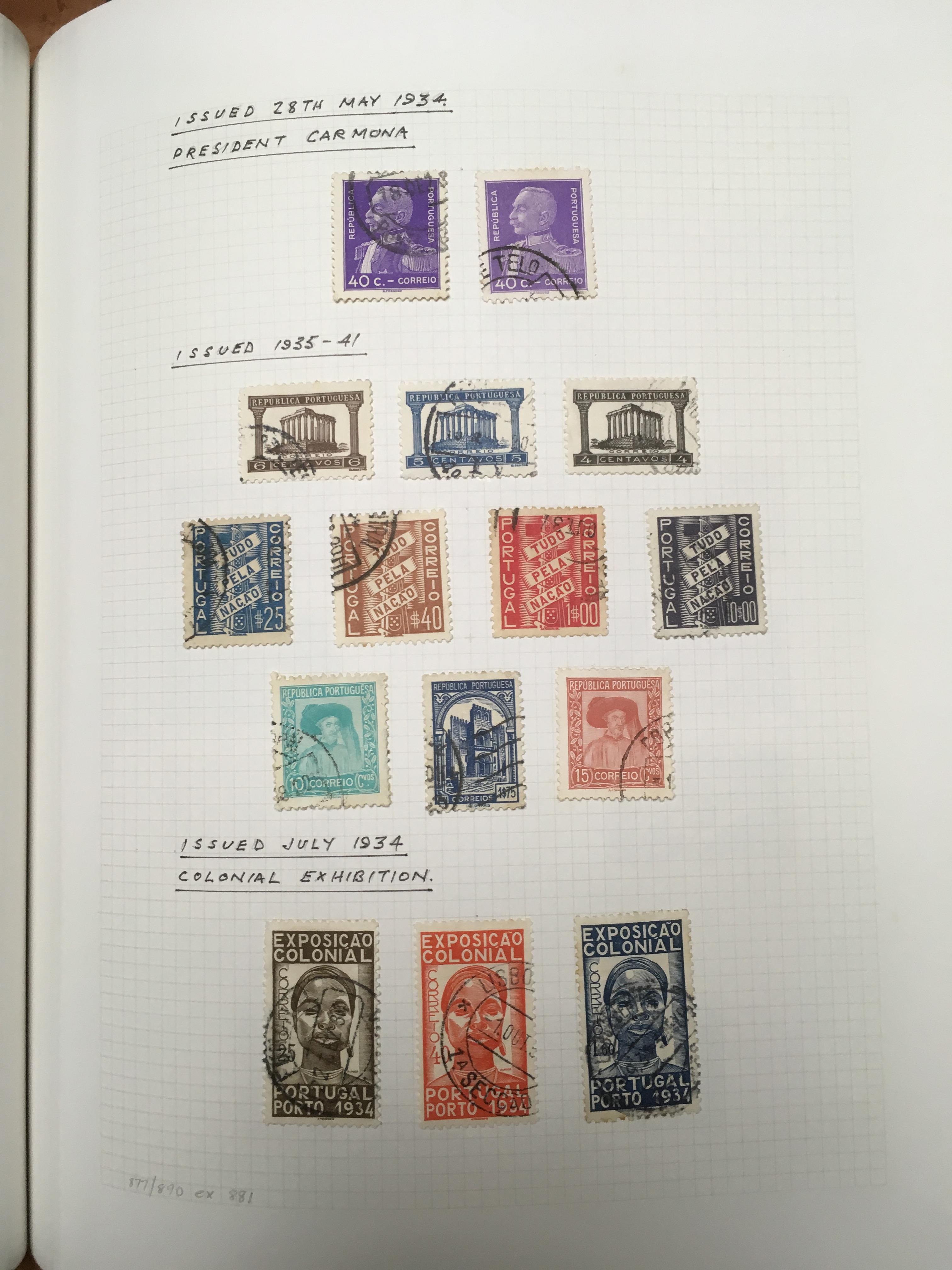 PORTUGAL: 1853-1987 MAINLY USED COLLECTI - Image 3 of 4