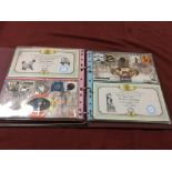 BOX WITH BENHAM MILLENIUM COIN COVERS IN