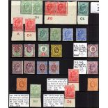 GB: 1902-13 EDWARD 7th MINT SELECTION, S