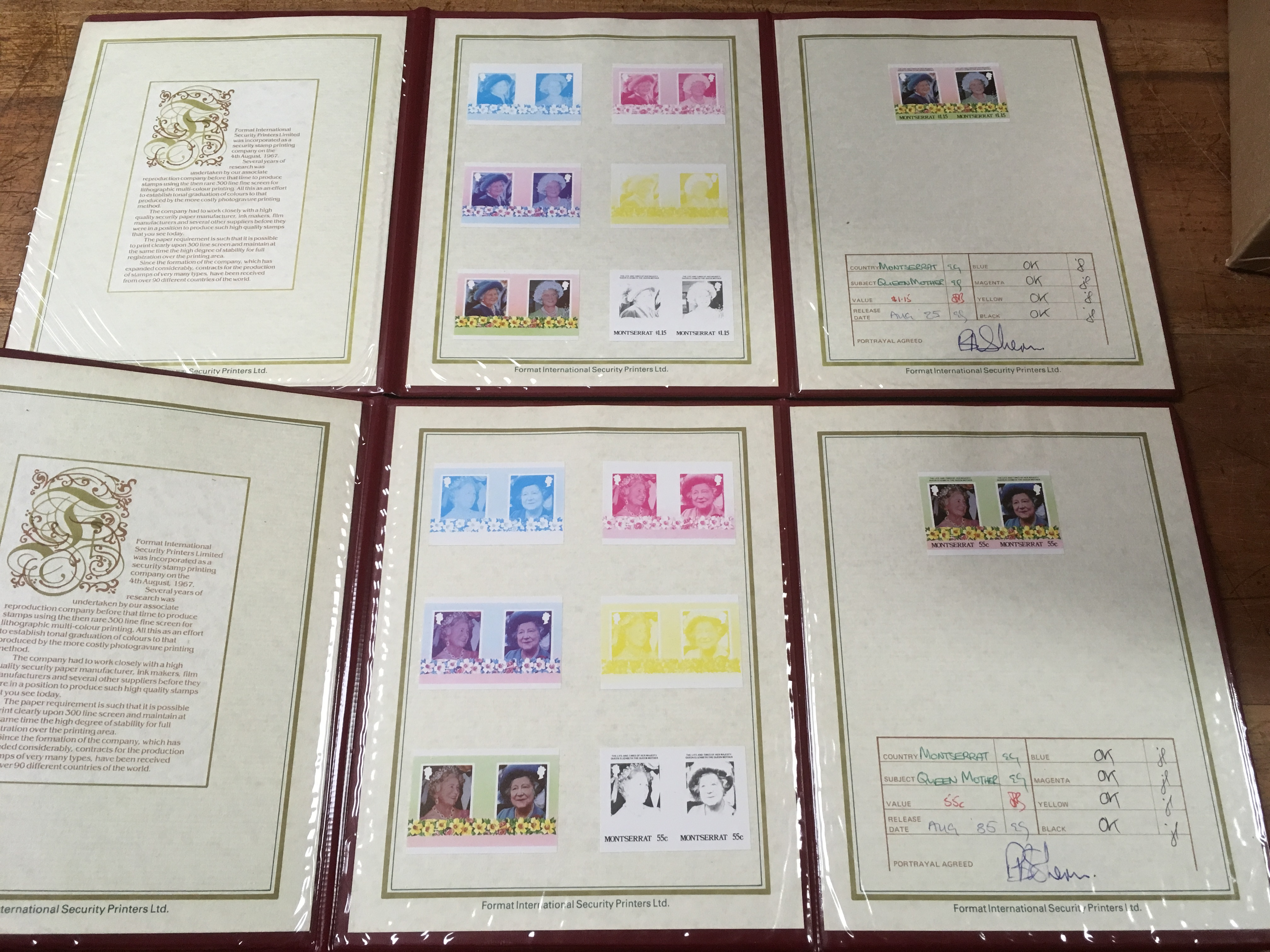BOX WITH QE2 PERIOD VARIETIES, ERRORS, F - Image 4 of 4