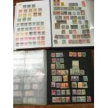BOX QV-KG6 IN SIX STOCKBOOKS, MALAYA, NO