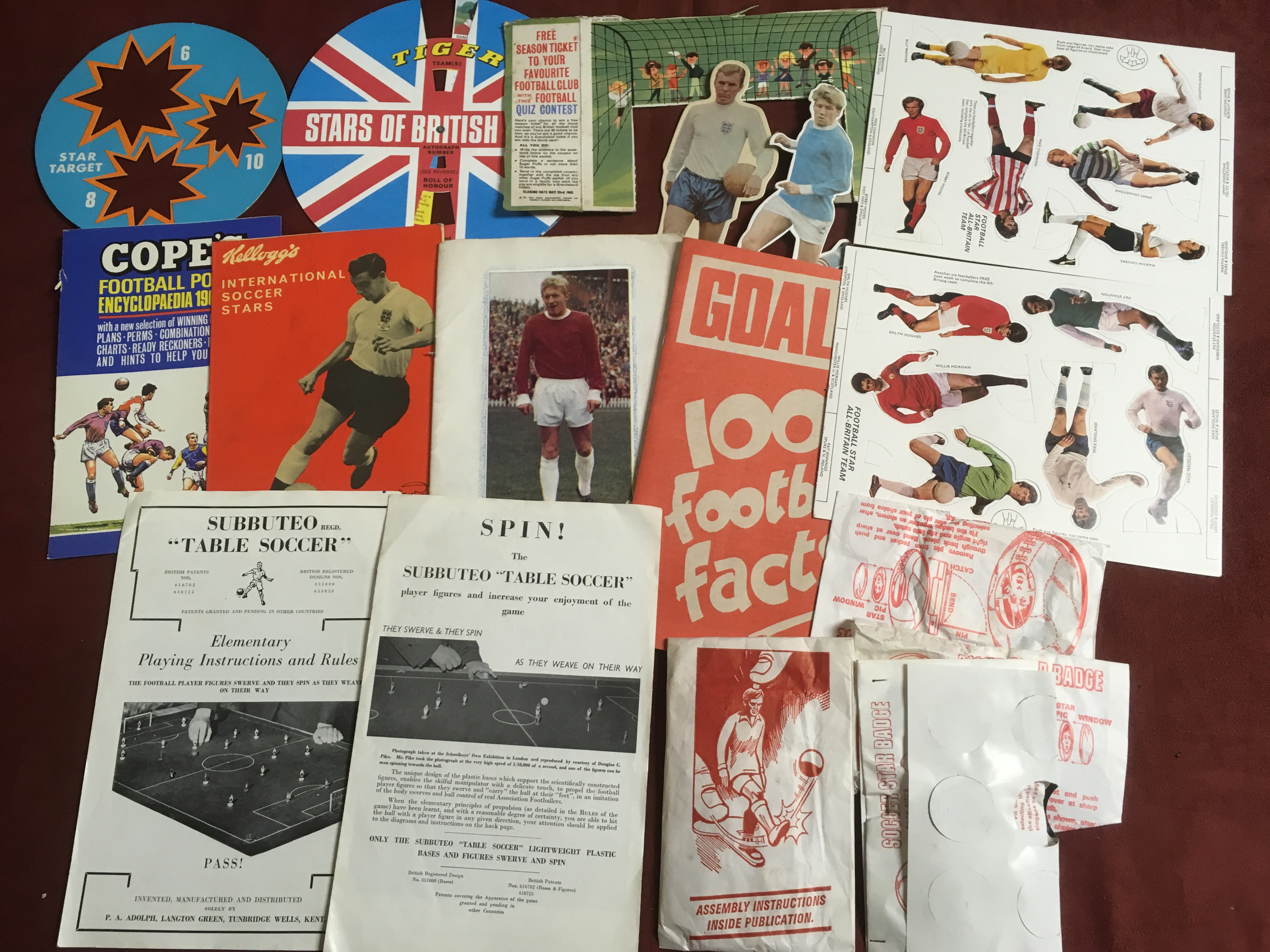 BOX OF FOOTBALL RELATED TRADE AND PUBLIC - Image 5 of 6