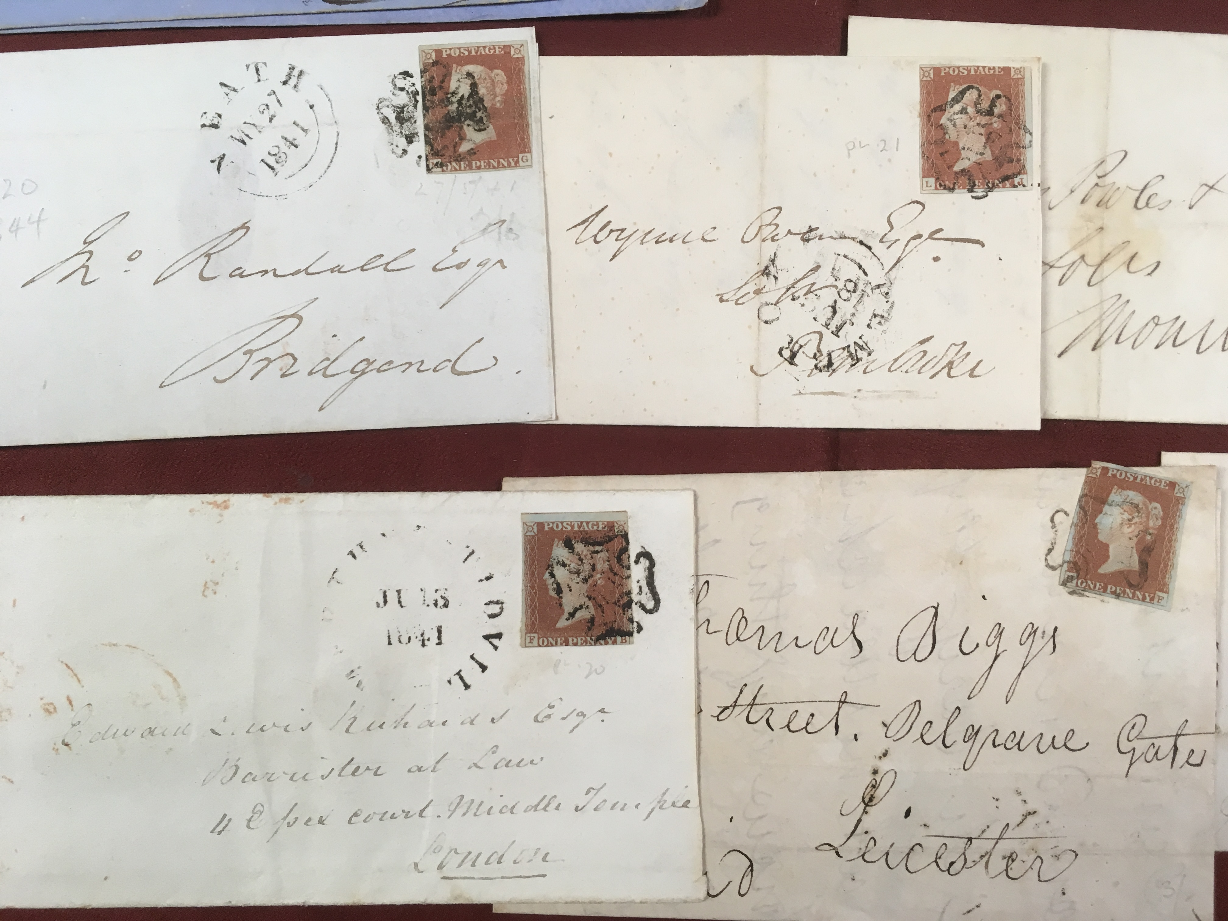 GB: SMALL BOX WITH 1841-80 ENTIRES AND C - Image 2 of 5