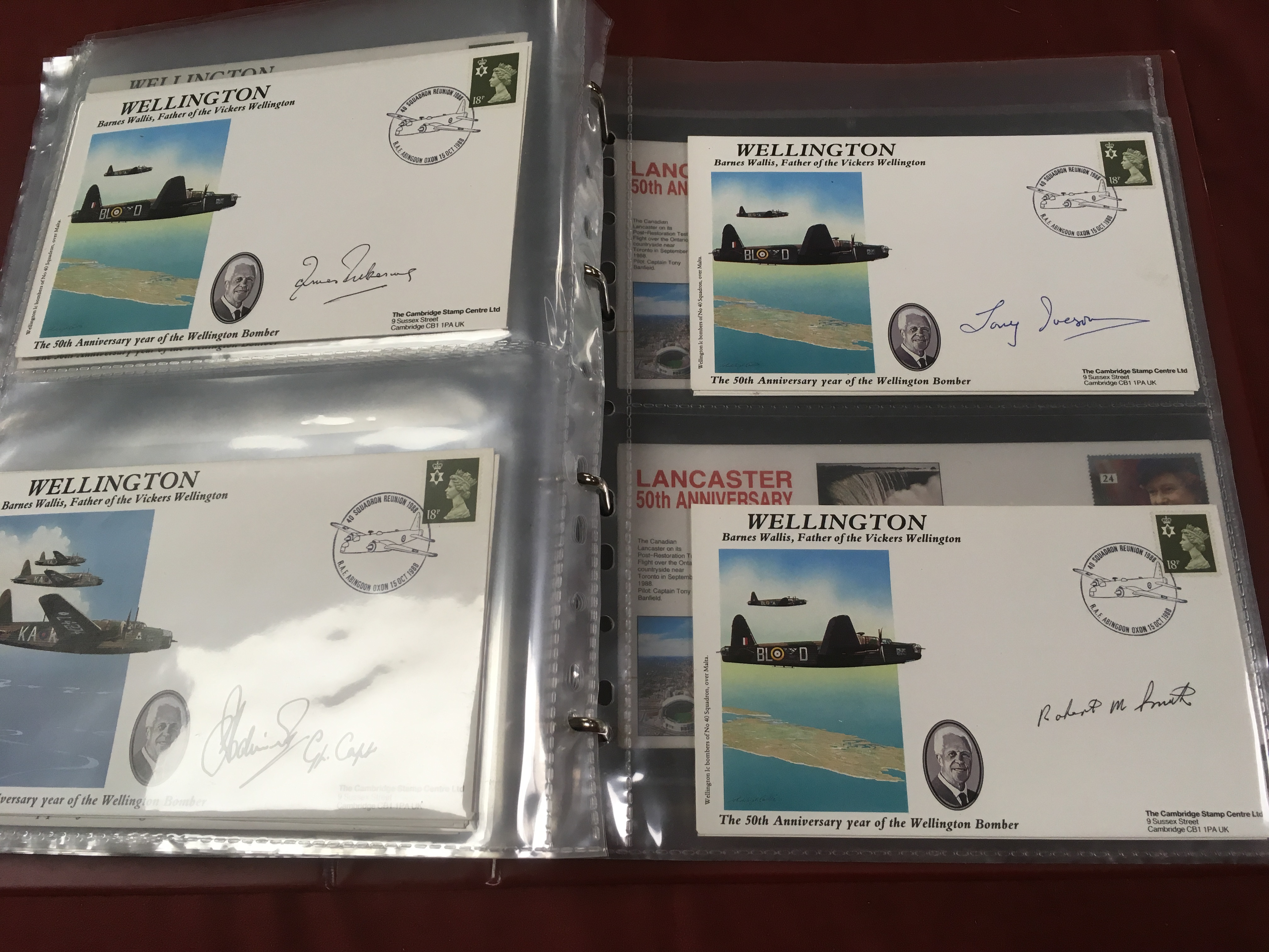 SIGNED COVERS: MIXED COVERS, MAINLY WW2 - Image 4 of 4