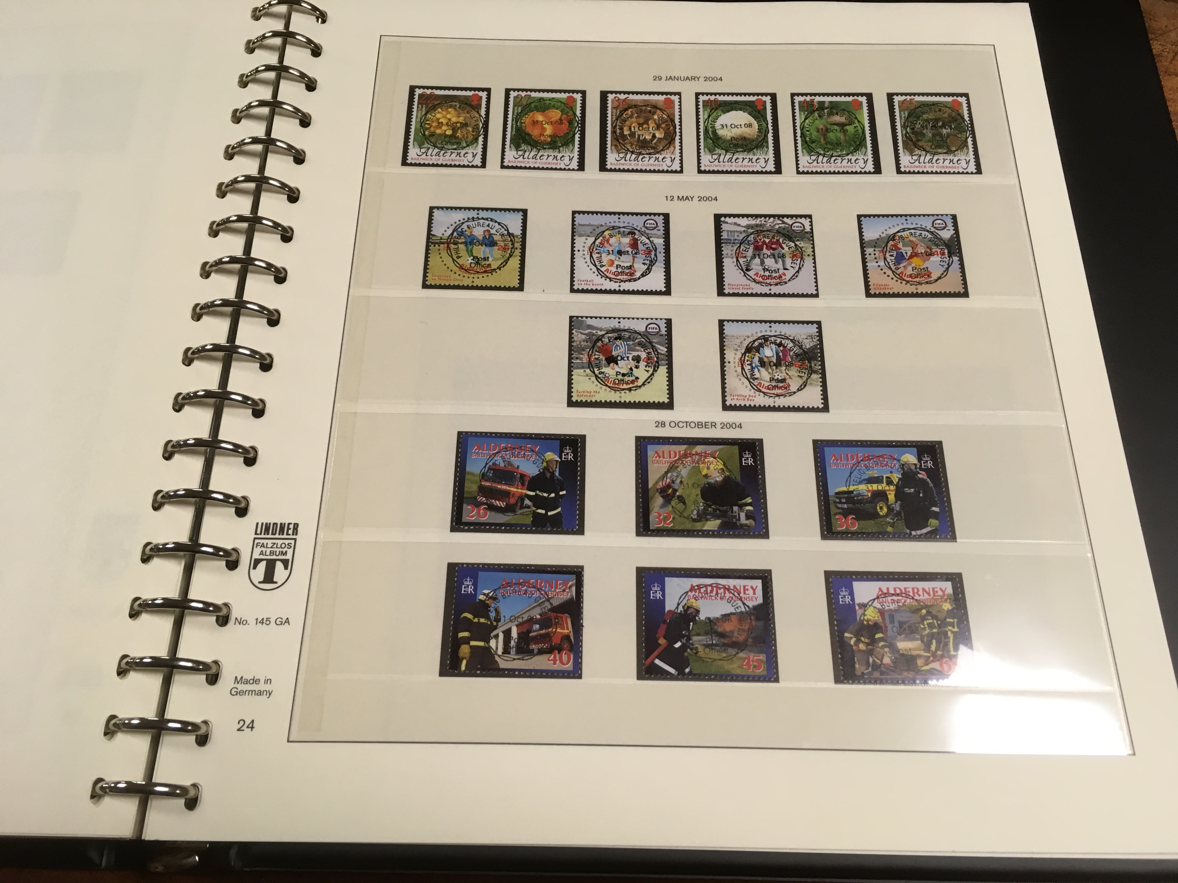GB: BOX WITH GUERNSEY TO 2009 AND ALDERN - Image 2 of 3