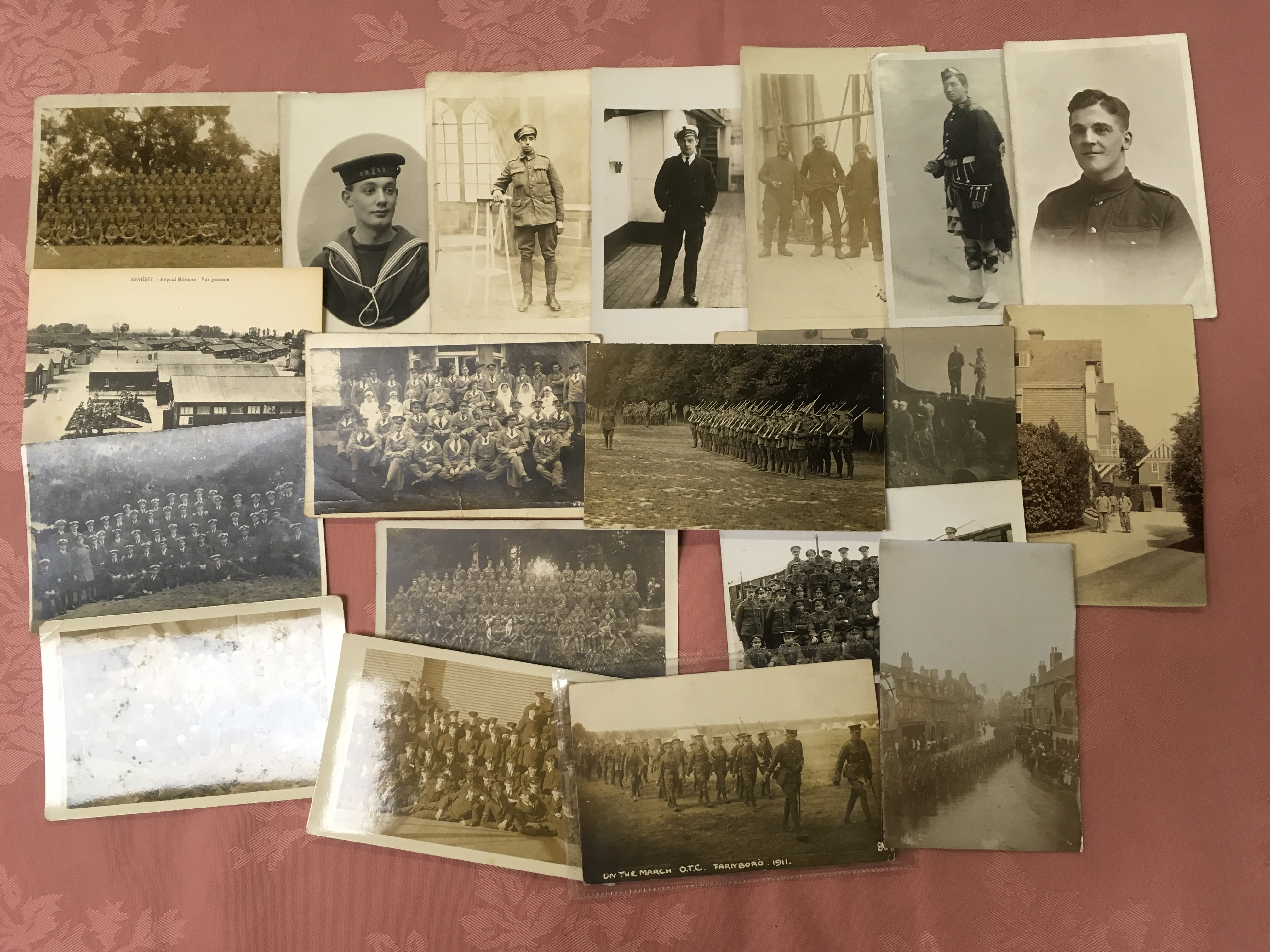 EX DEALER'S POSTCARD STOCK: BOX WITH MIL - Image 2 of 3