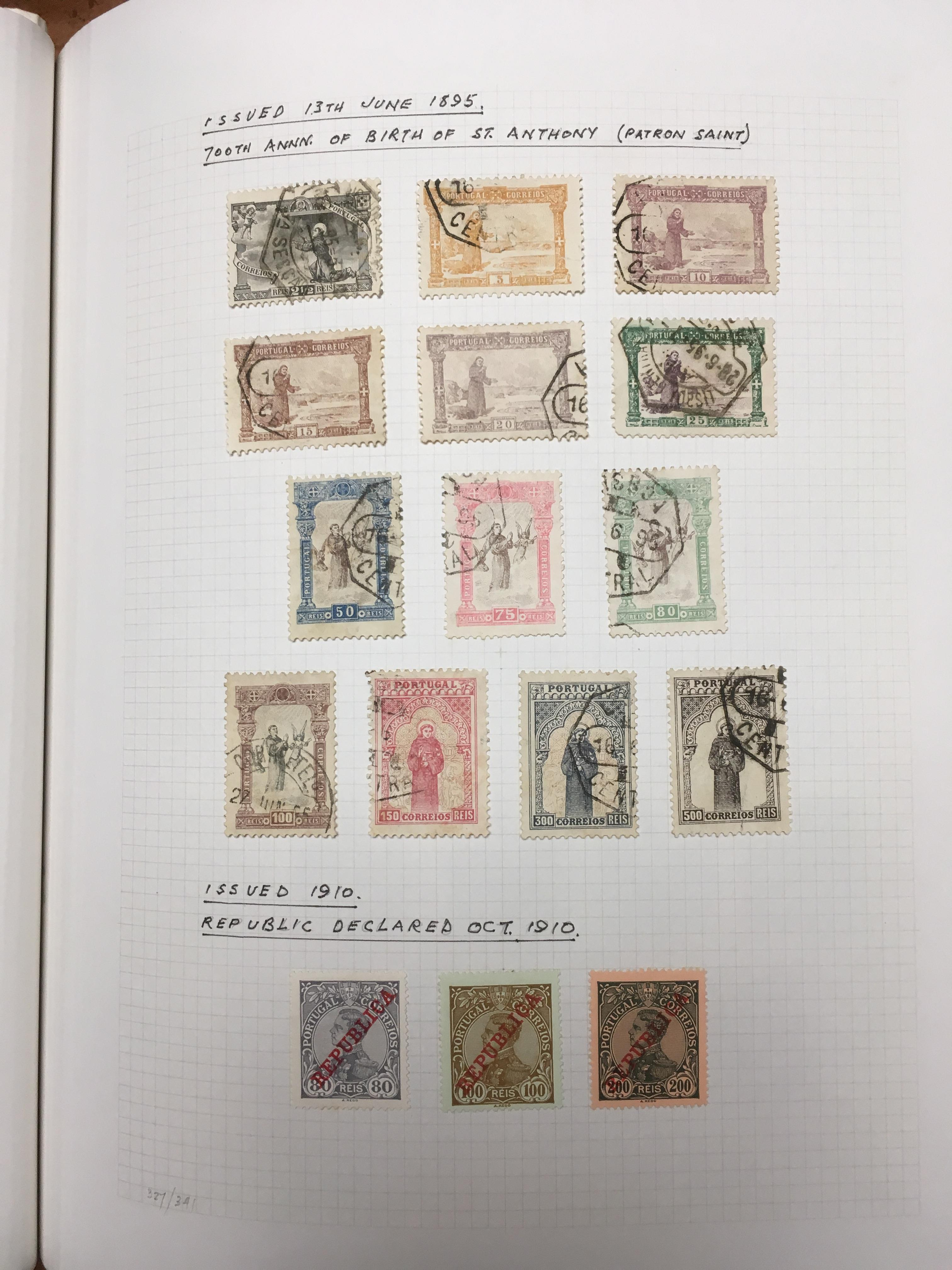 PORTUGAL: 1853-1987 MAINLY USED COLLECTI - Image 2 of 4