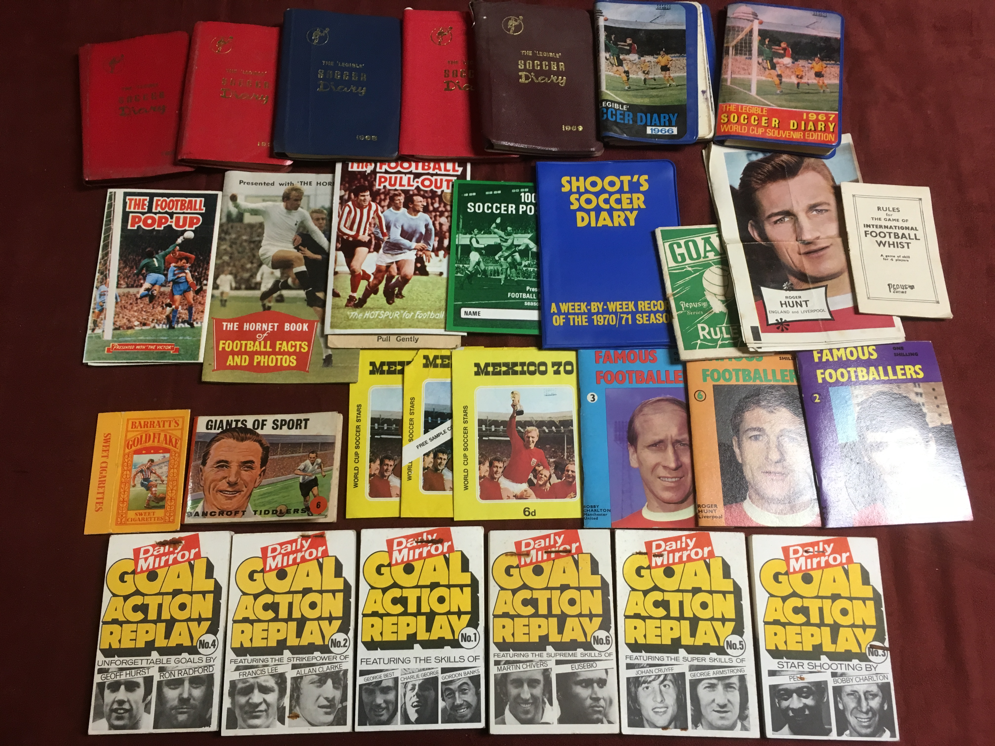 BOX OF FOOTBALL RELATED TRADE AND PUBLIC - Image 2 of 6