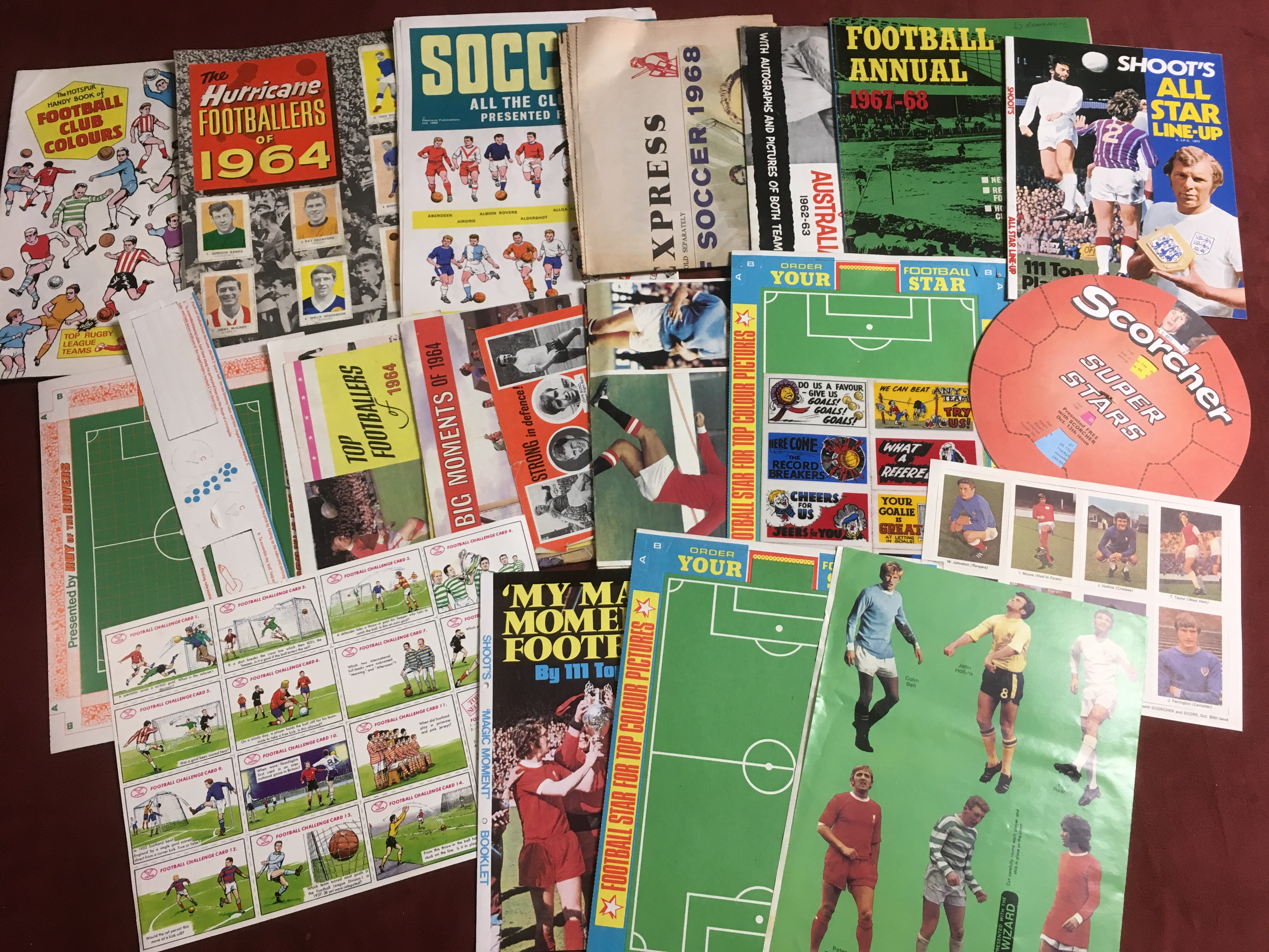 BOX OF FOOTBALL RELATED TRADE AND PUBLIC - Image 4 of 6