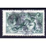 GB: 1913 WATERLOW £1 USED, INDISTINCT PA