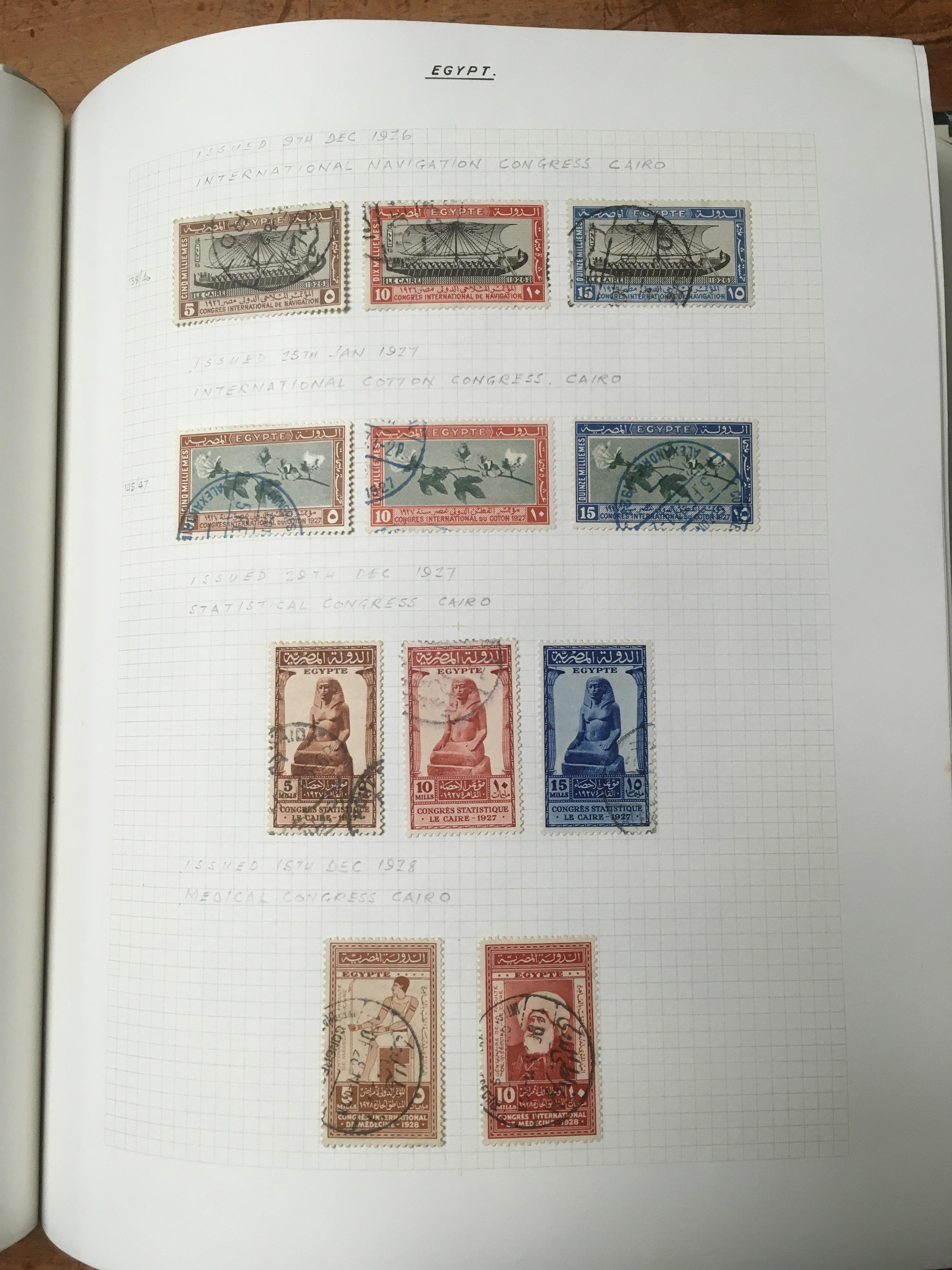 A COLLECTION OF MAINLY USED EGYPT, IRAQ - Image 4 of 4