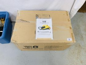 AS NEW LITTLE YELLO STEAM CLEANER BOXED WITH ACCESSORIES - SOLD AS SEEN