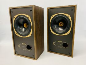 A PAIR OF DC-100 DUAL CONCENTRIC LOUD SPEAKERS - SOLD AS SEEN