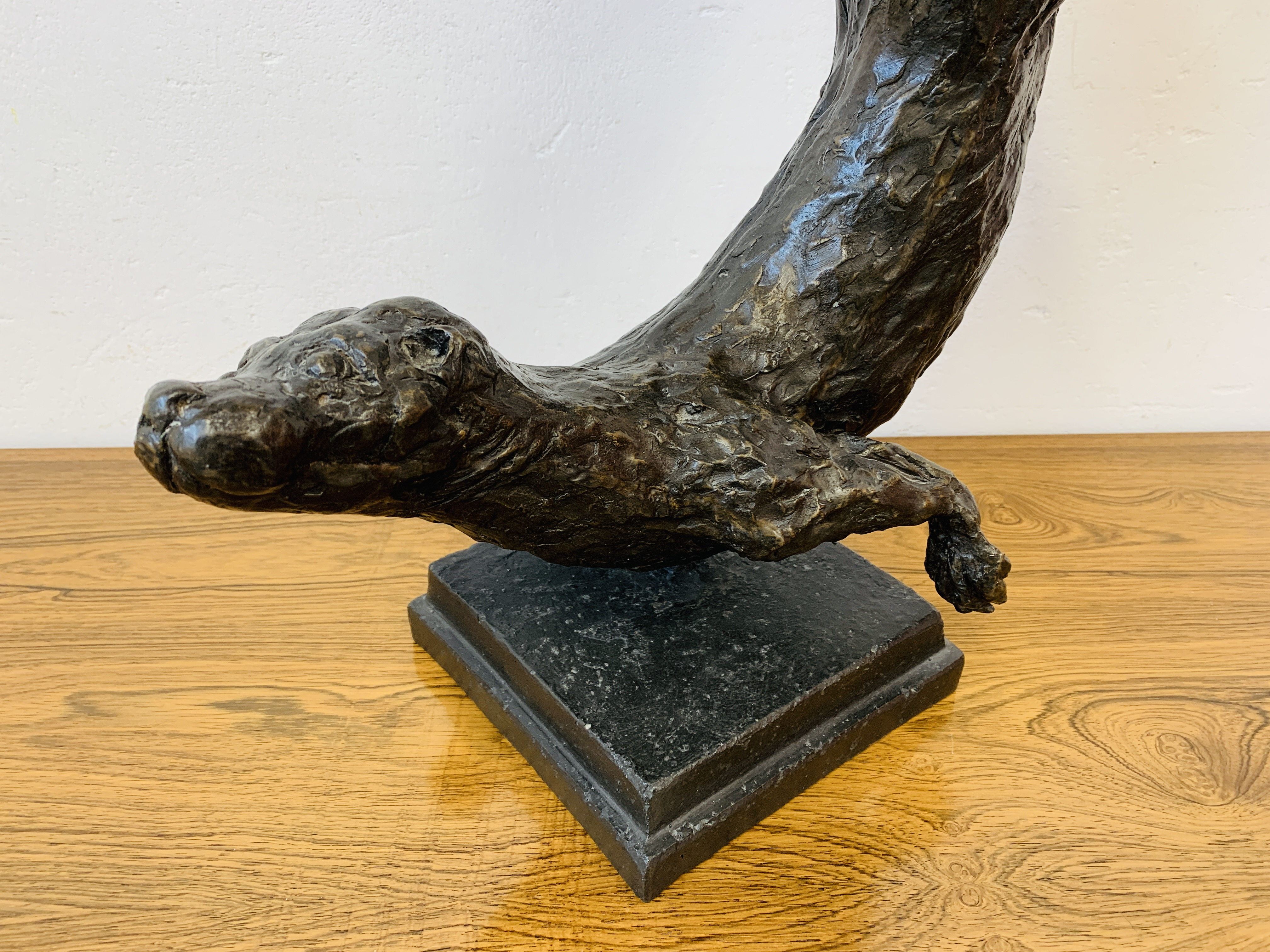 A COMPOSITION MODEL OF AN OTTER, - Image 2 of 11