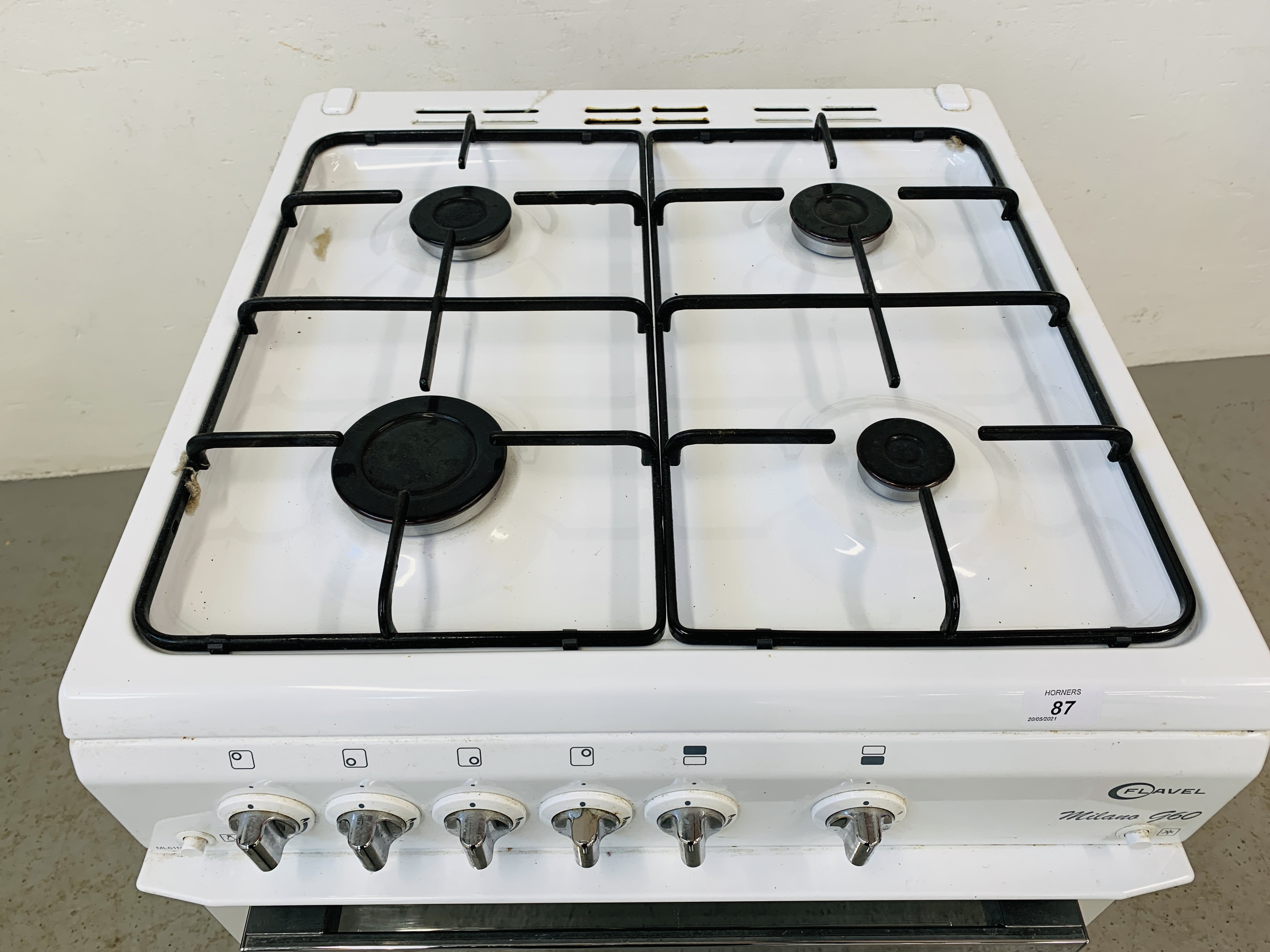 A FLAVEL MILANO G60 DOUBLE OVEN MAINS GAS COOKER - TRADE ONLY - Image 4 of 9