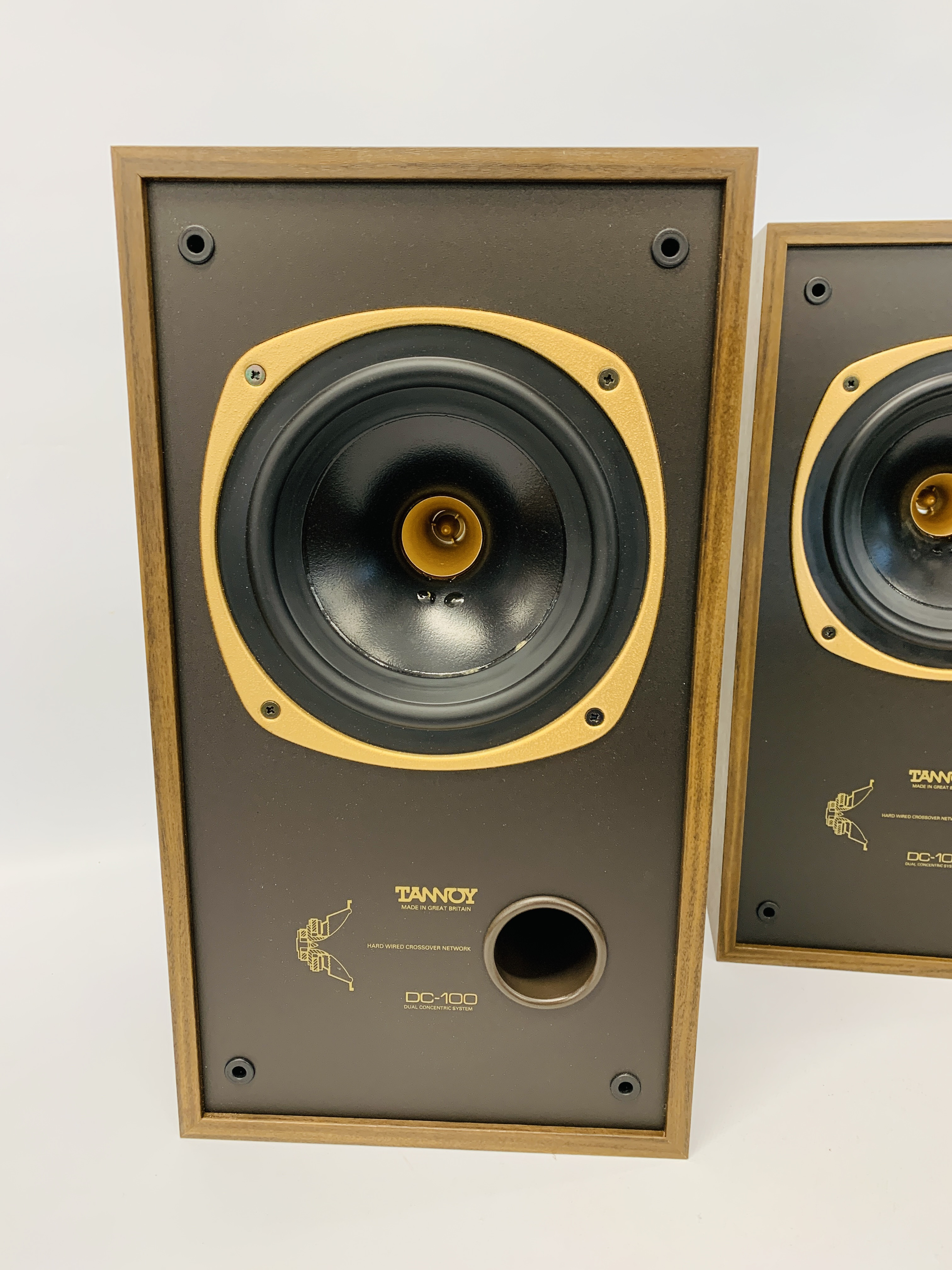 A PAIR OF DC-100 DUAL CONCENTRIC LOUD SPEAKERS - SOLD AS SEEN - Image 3 of 12