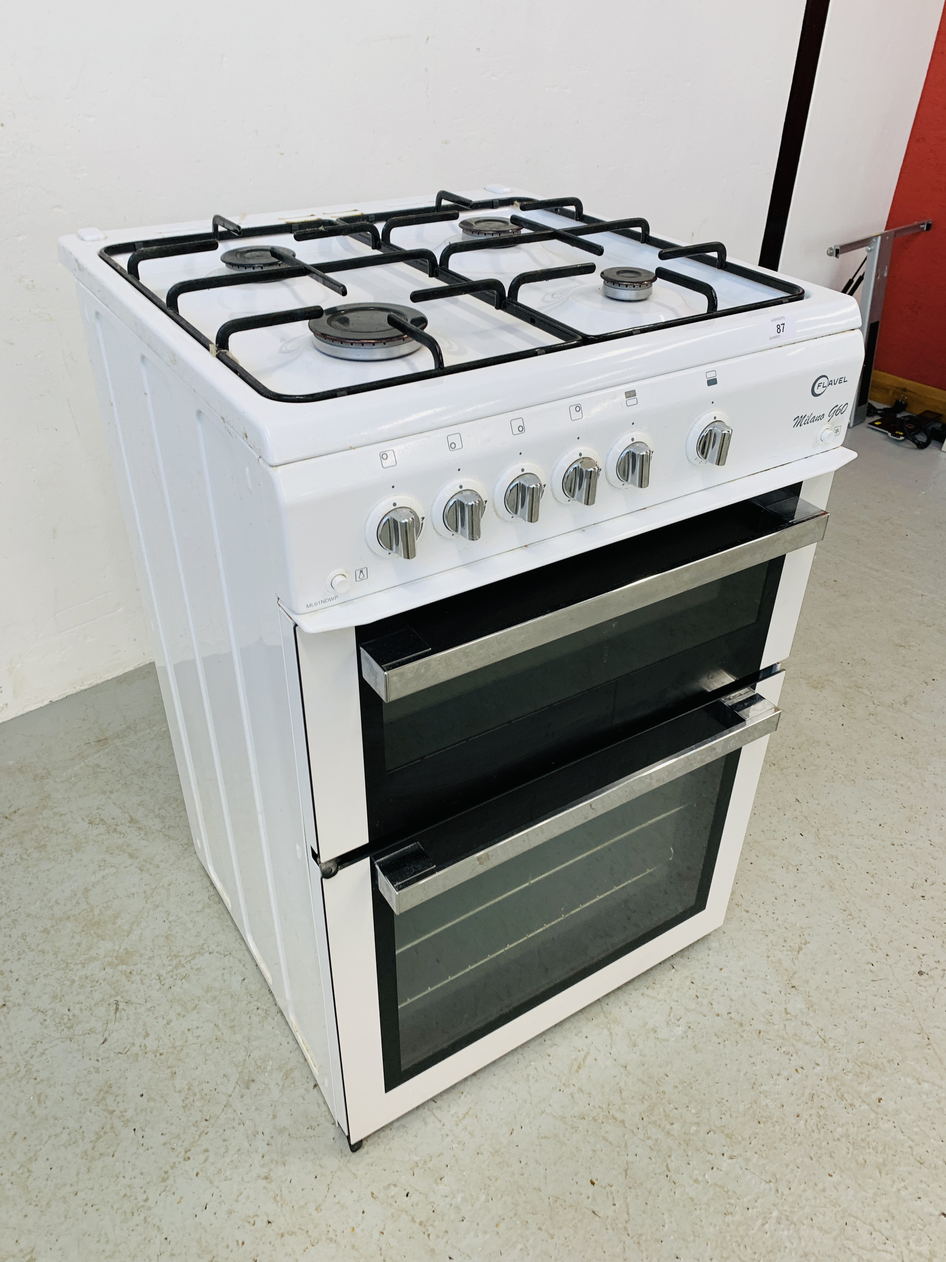 A FLAVEL MILANO G60 DOUBLE OVEN MAINS GAS COOKER - TRADE ONLY - Image 3 of 9