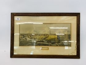 """19TH CENTURY COLOURED ENGRAVING """"VIEW OF NORWICH"""" 49 X 36 CM (AR)"""