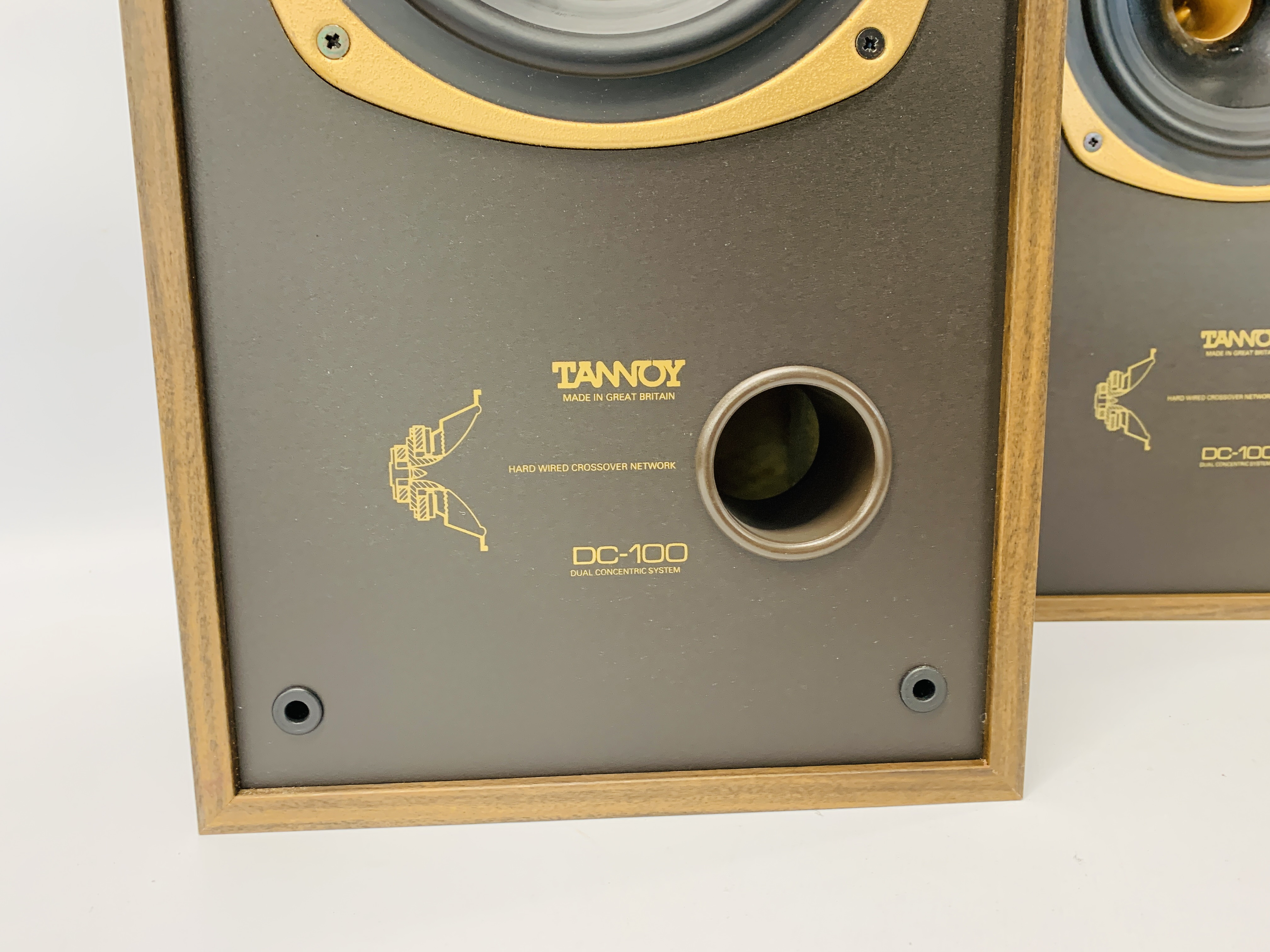 A PAIR OF DC-100 DUAL CONCENTRIC LOUD SPEAKERS - SOLD AS SEEN - Image 4 of 12