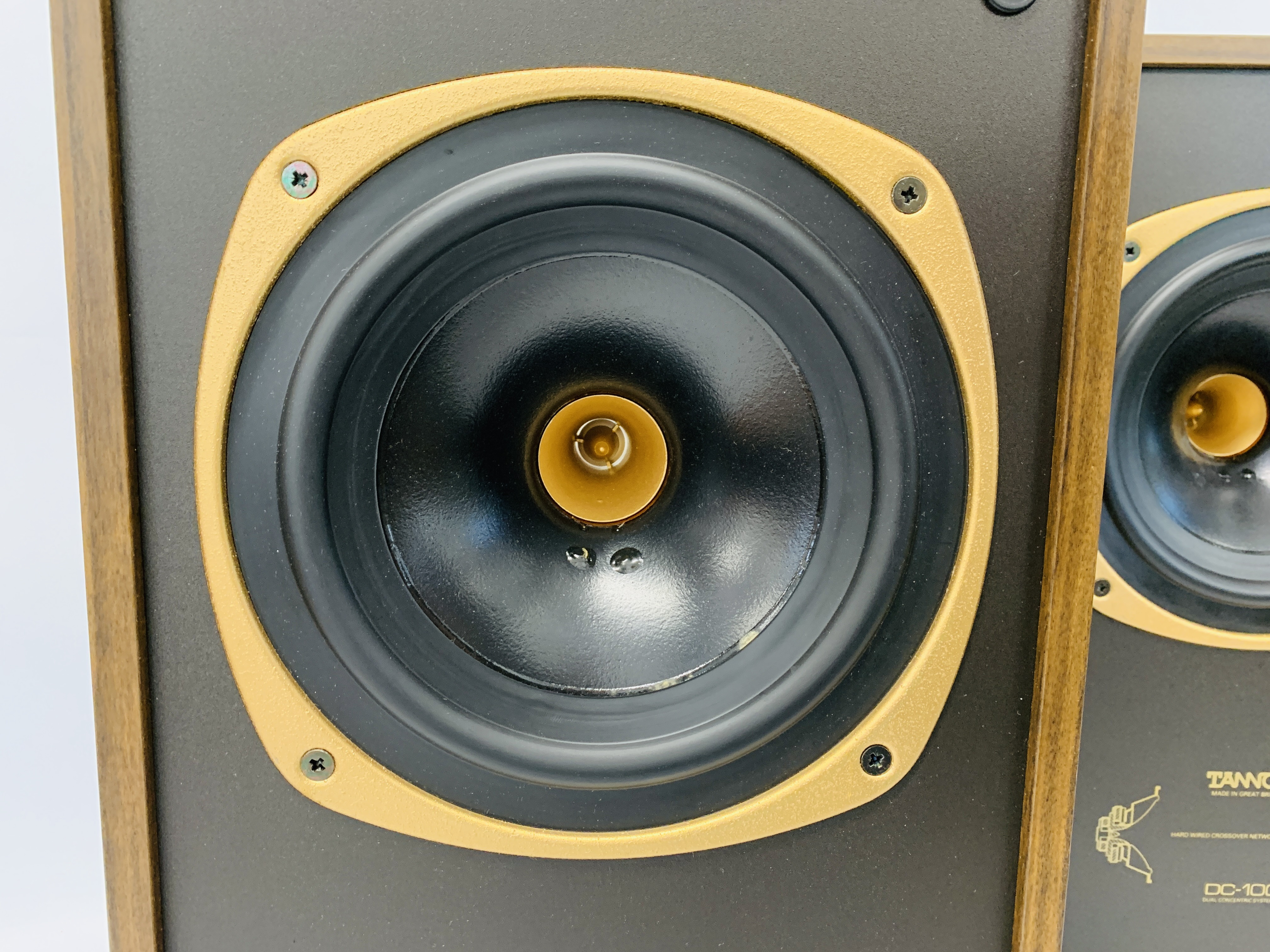 A PAIR OF DC-100 DUAL CONCENTRIC LOUD SPEAKERS - SOLD AS SEEN - Image 5 of 12