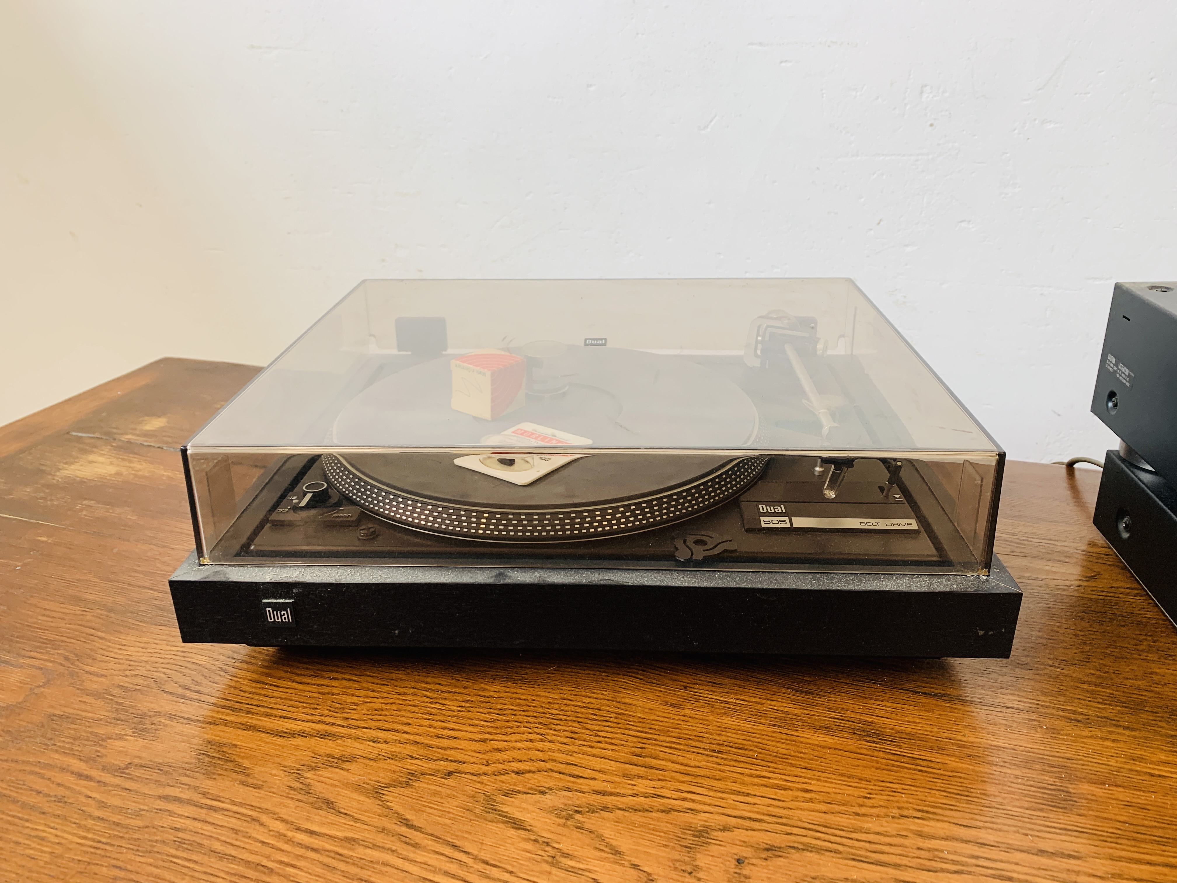 DUAL 505 BELT DRIVE TURNTABLE, - Image 4 of 7