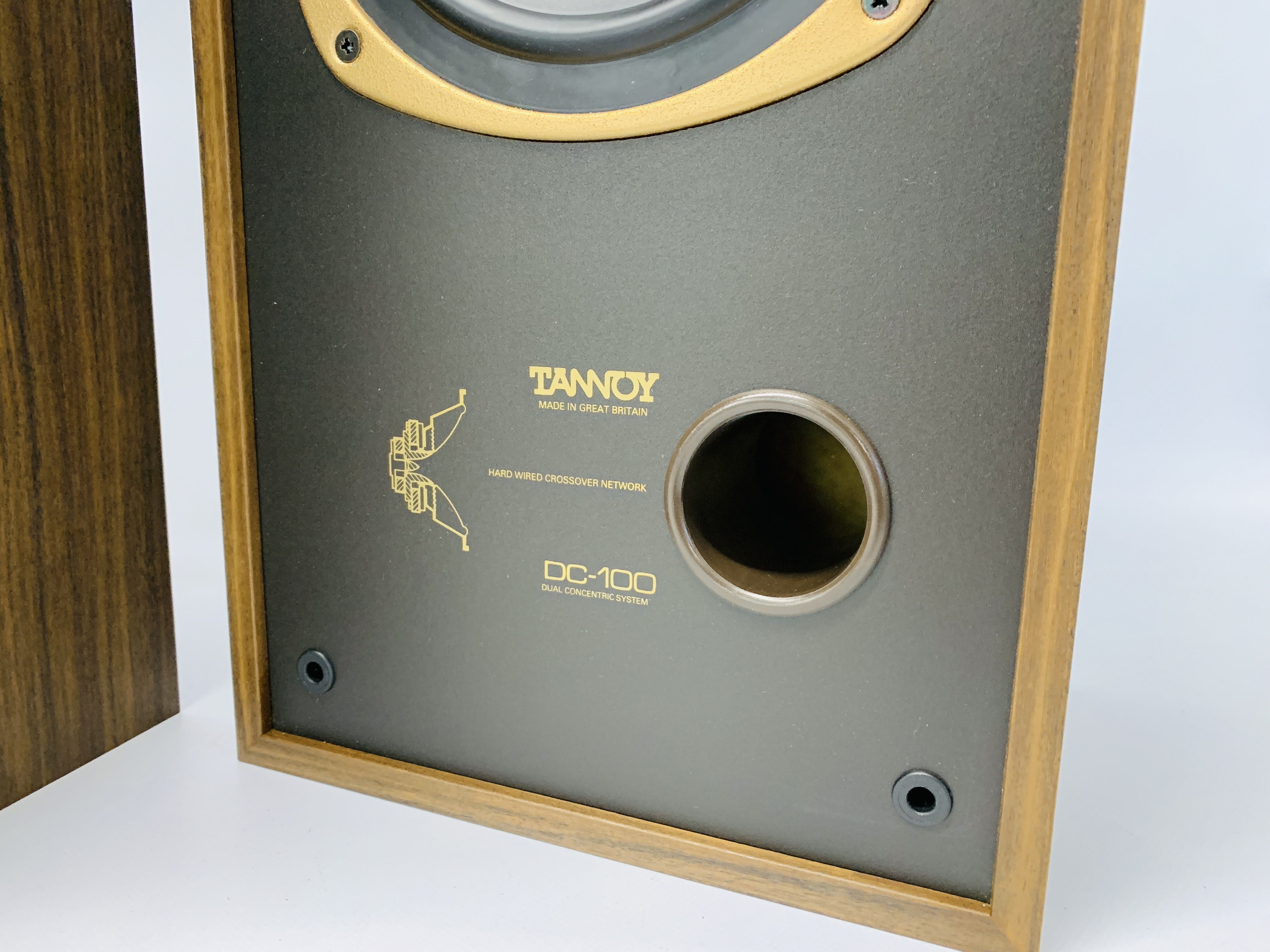 A PAIR OF DC-100 DUAL CONCENTRIC LOUD SPEAKERS - SOLD AS SEEN - Image 7 of 12