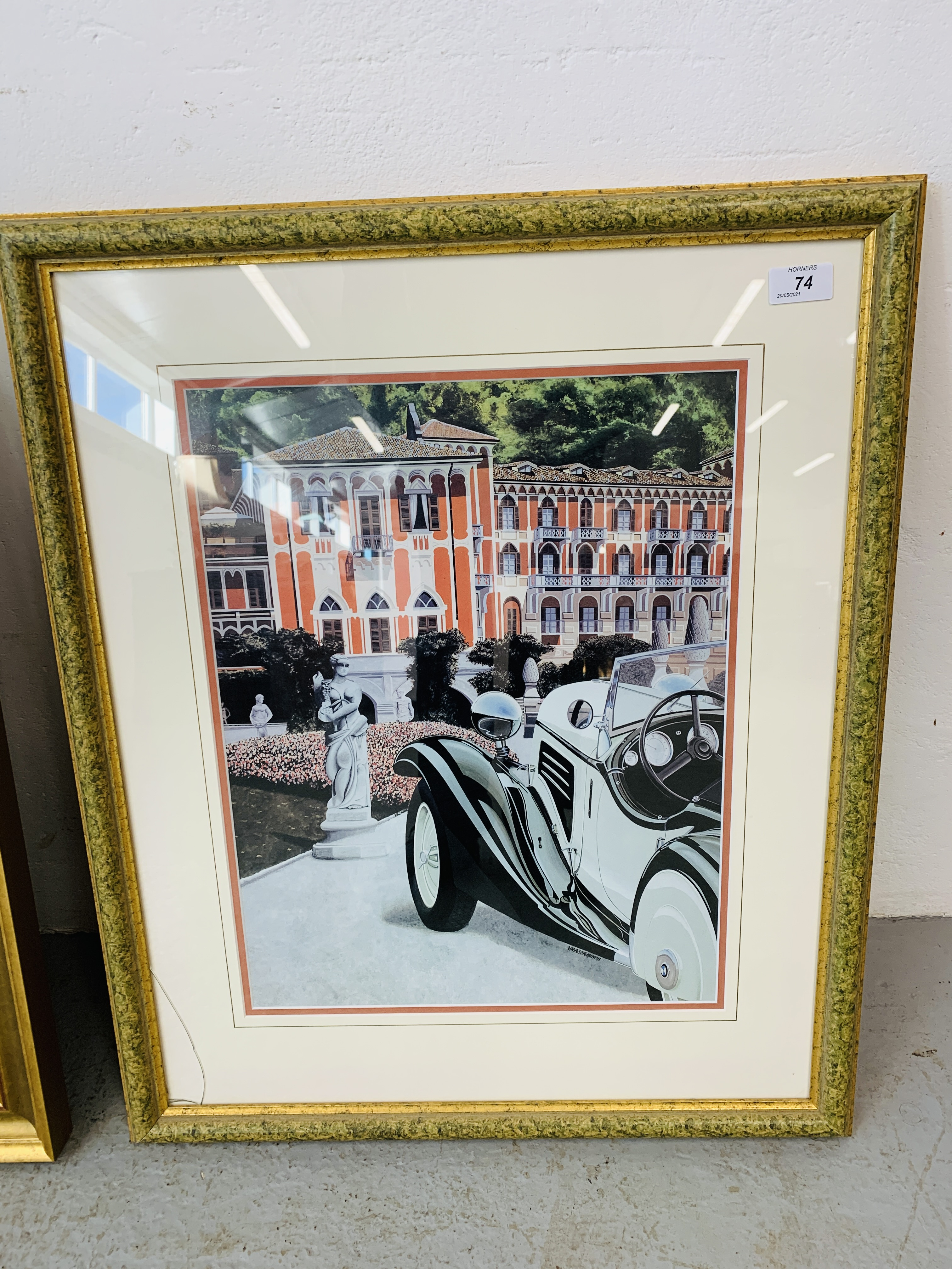 """A FRAMED AND MOUNTED ALAN FEARNLEY LTD EDITION PRINT """"A CERTAIN STYLE"""" 128/300 35. - Image 2 of 5"""