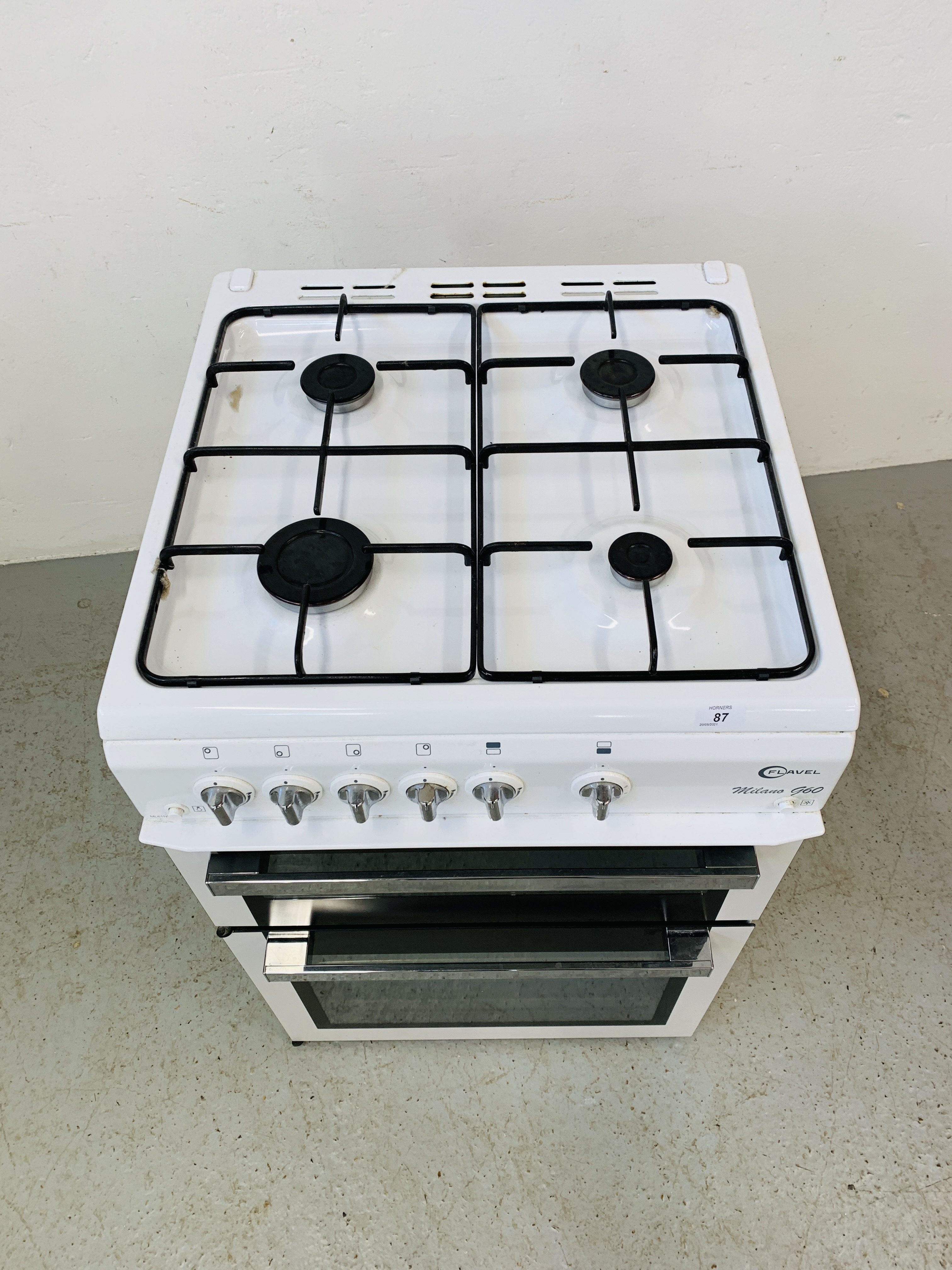 A FLAVEL MILANO G60 DOUBLE OVEN MAINS GAS COOKER - TRADE ONLY - Image 2 of 9