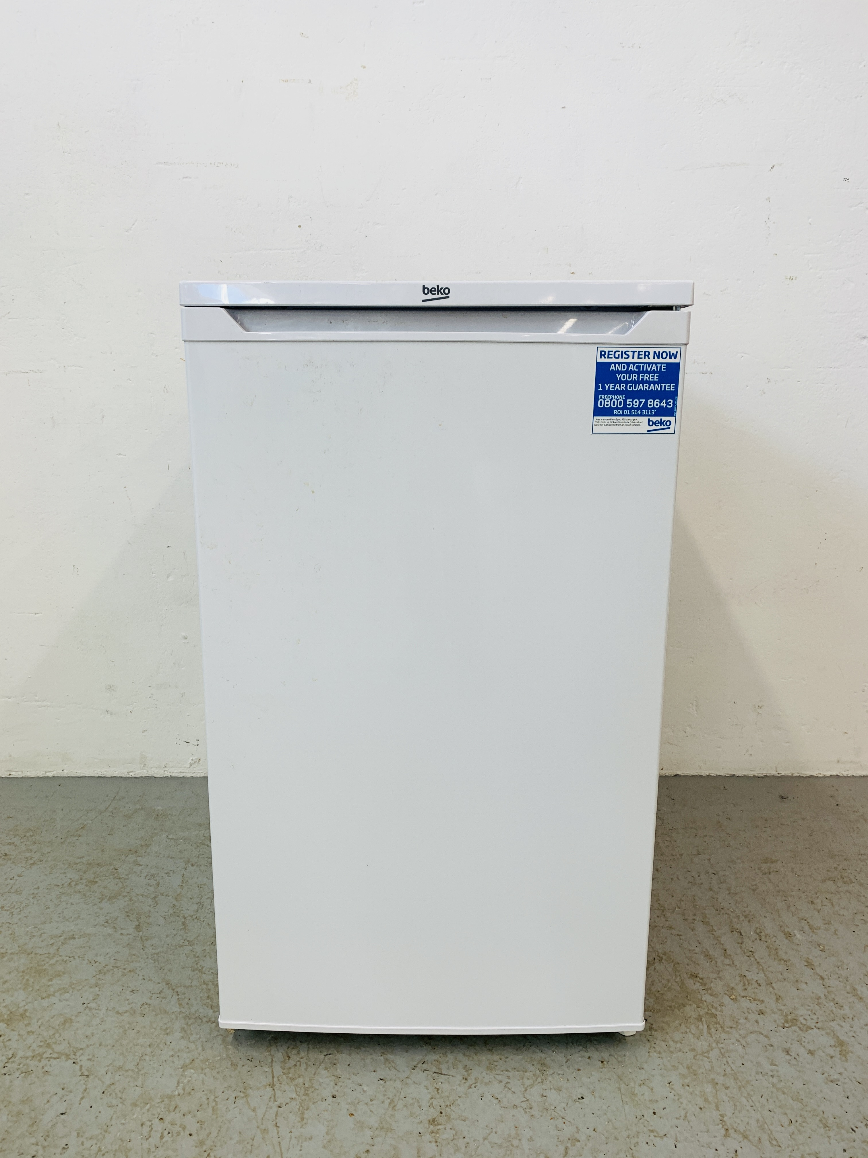 A BEKO UNDERCOUNTER FREEZER - SOLD AS SEEN - Image 3 of 6