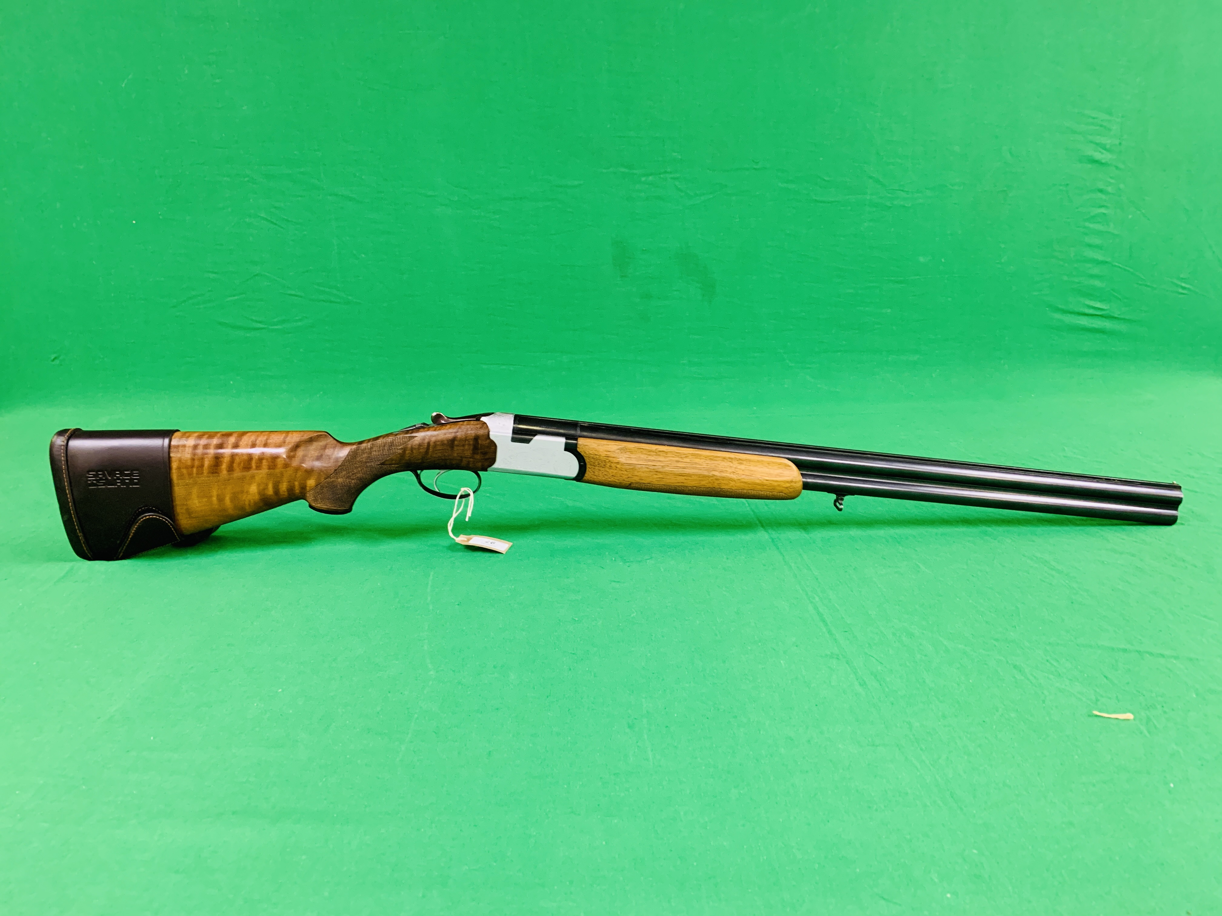 12 BORE BERETTA OVER AND UNDER SHOTGUN # B17388B WITH GUN SLEEVE - (ALL GUNS TO BE INSPECTED AND