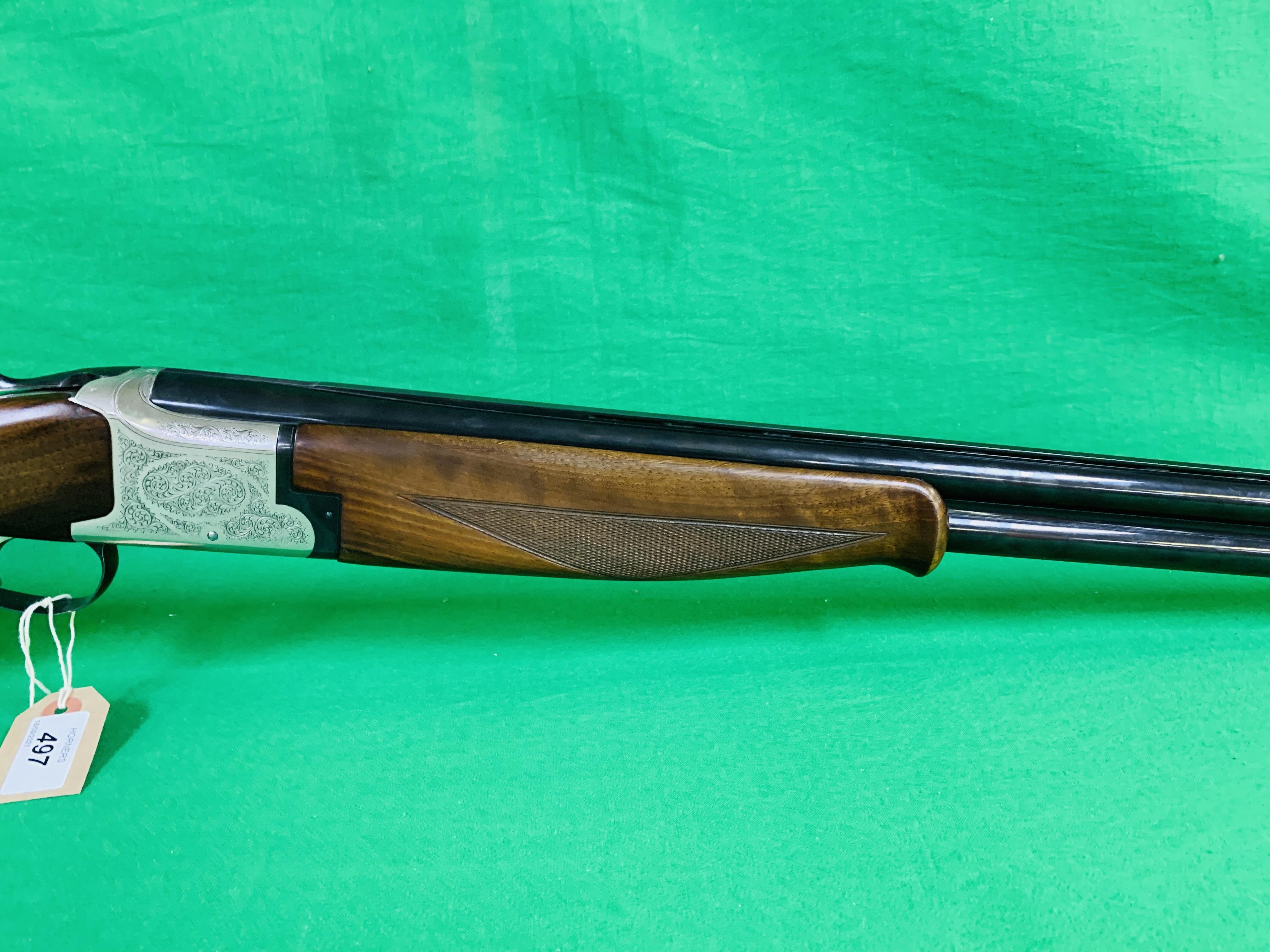 WINCHESTER MODEL 91 12 BORE OVER AND UNDER SHOTGUN # 232623 28 INCH BARRELS, - Image 5 of 8