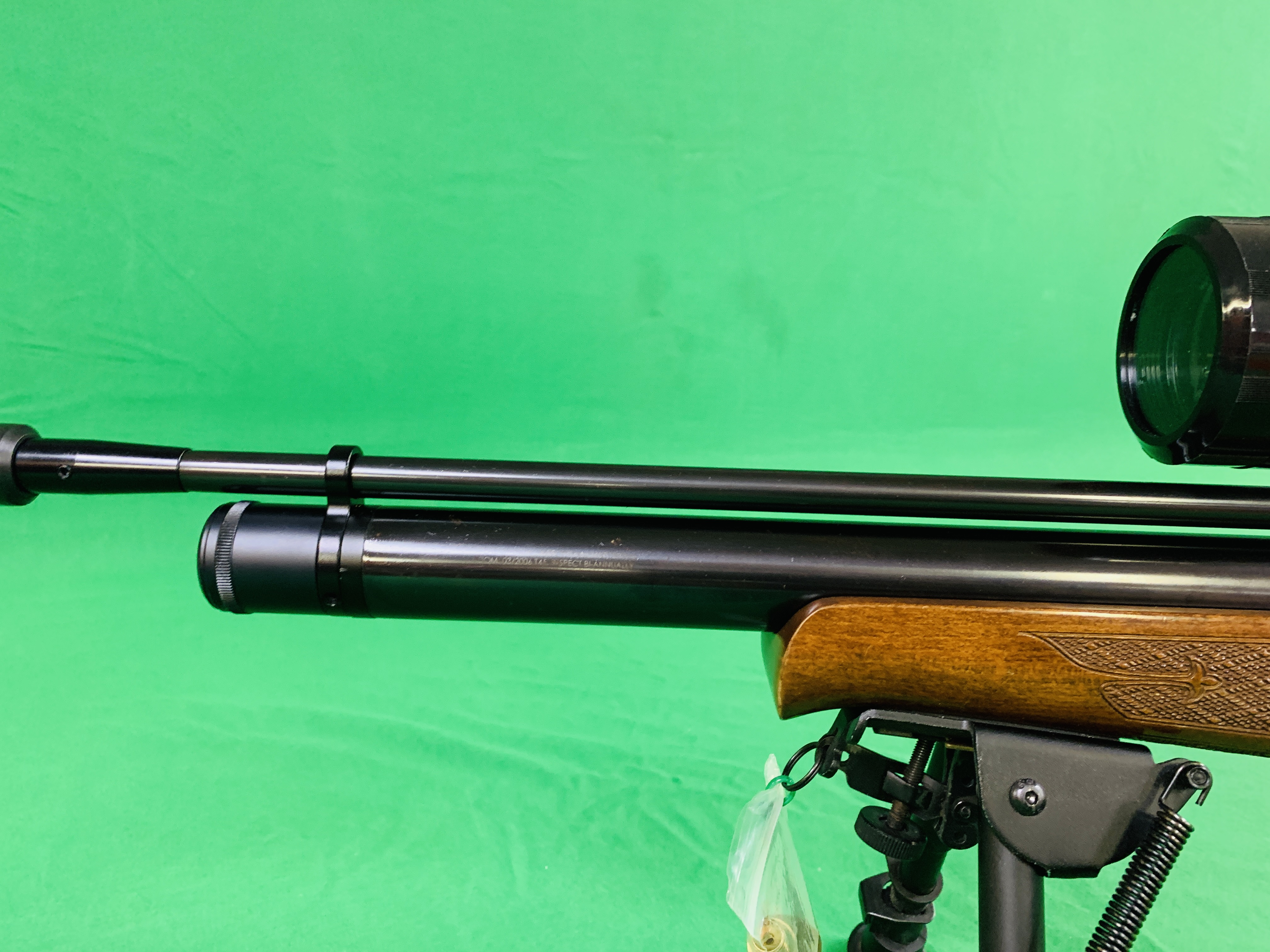 AIR ARMS S400 CLASSIC .177 BOLT ACTION PCP AIR RIFLE FITTED WITH BONUS 6. - Image 7 of 17