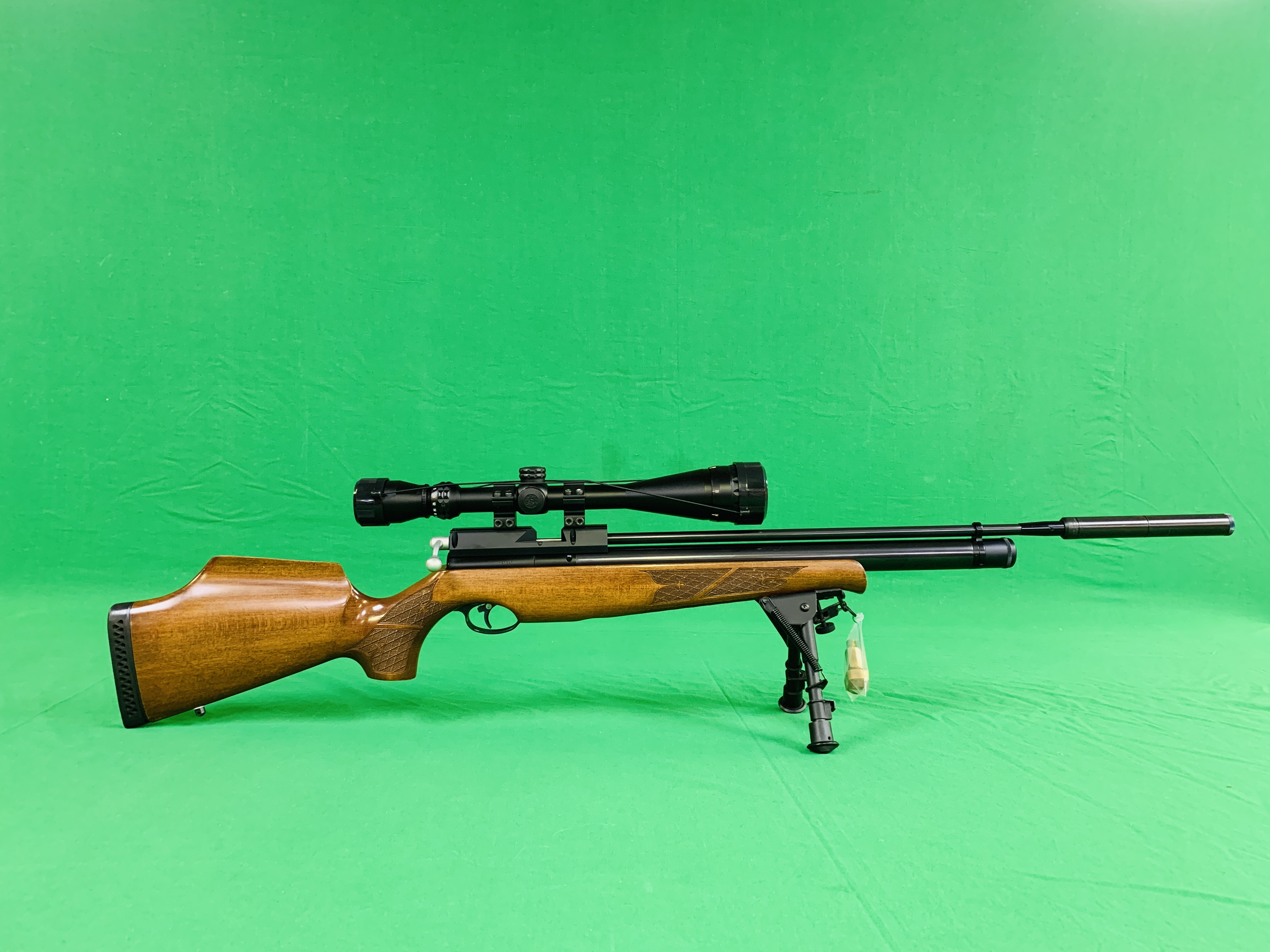 AIR ARMS S400 CLASSIC .177 BOLT ACTION PCP AIR RIFLE FITTED WITH BONUS 6.