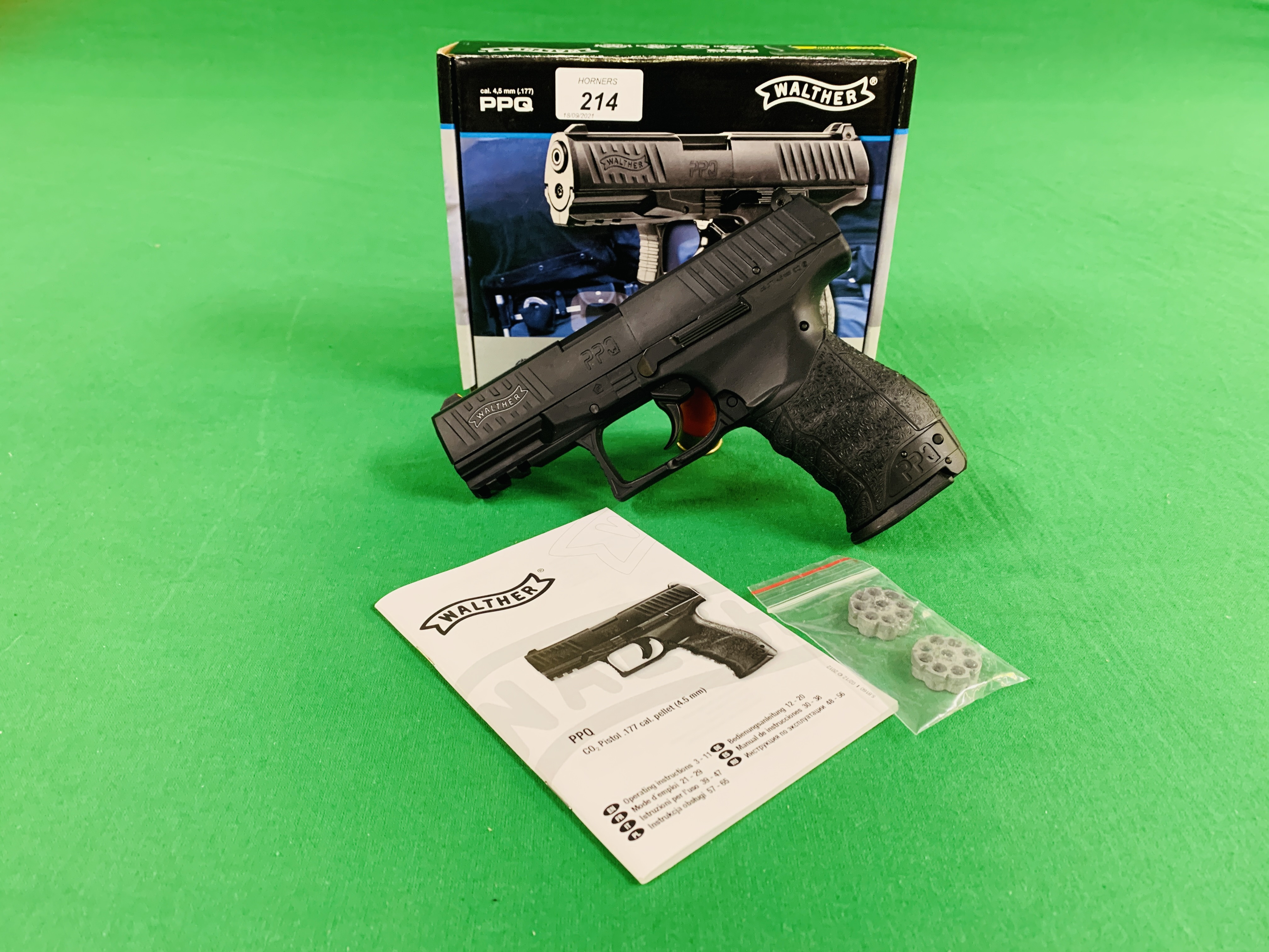 A WALTHER PPQ .
