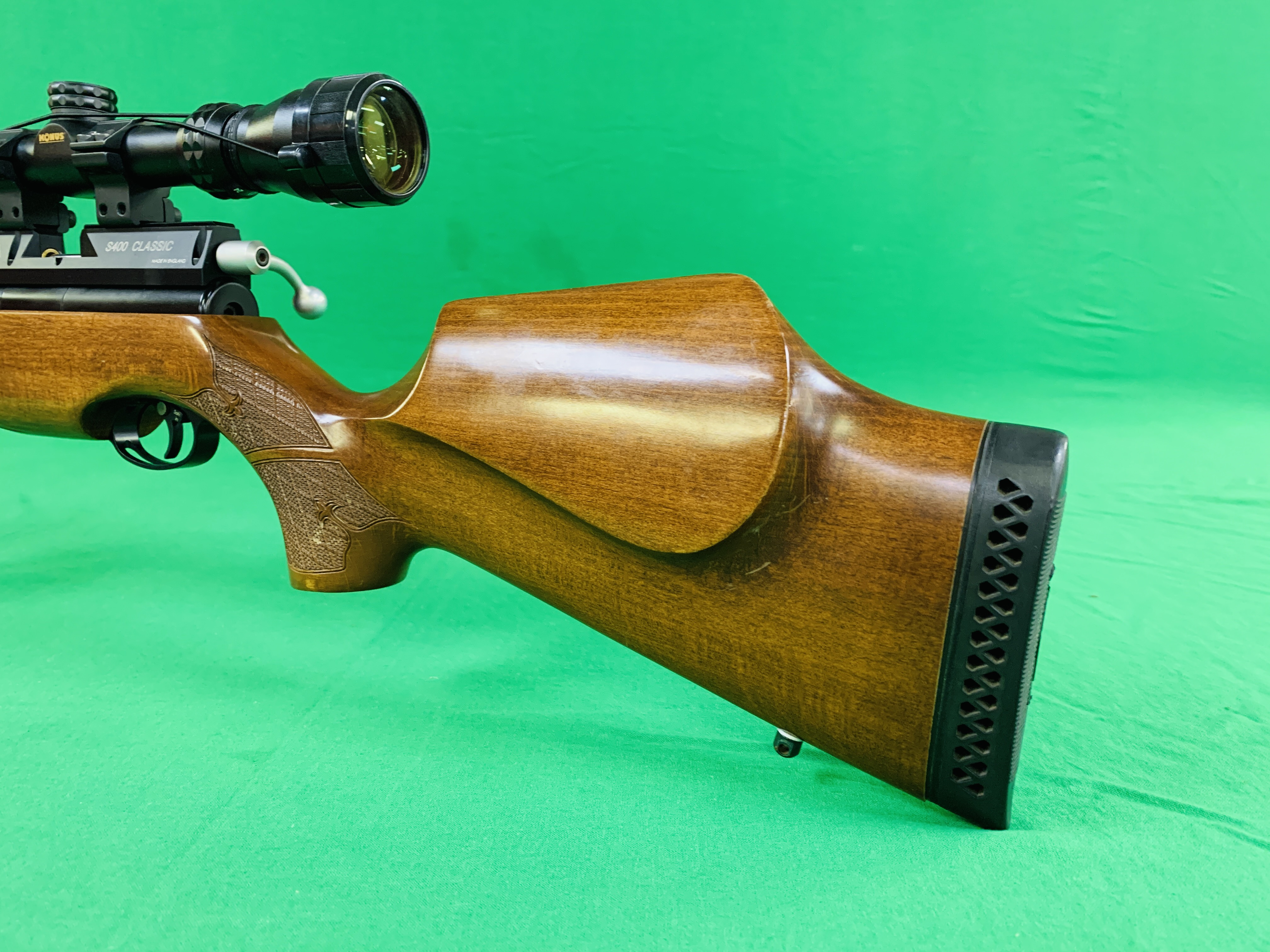 AIR ARMS S400 CLASSIC .177 BOLT ACTION PCP AIR RIFLE FITTED WITH BONUS 6. - Image 3 of 17