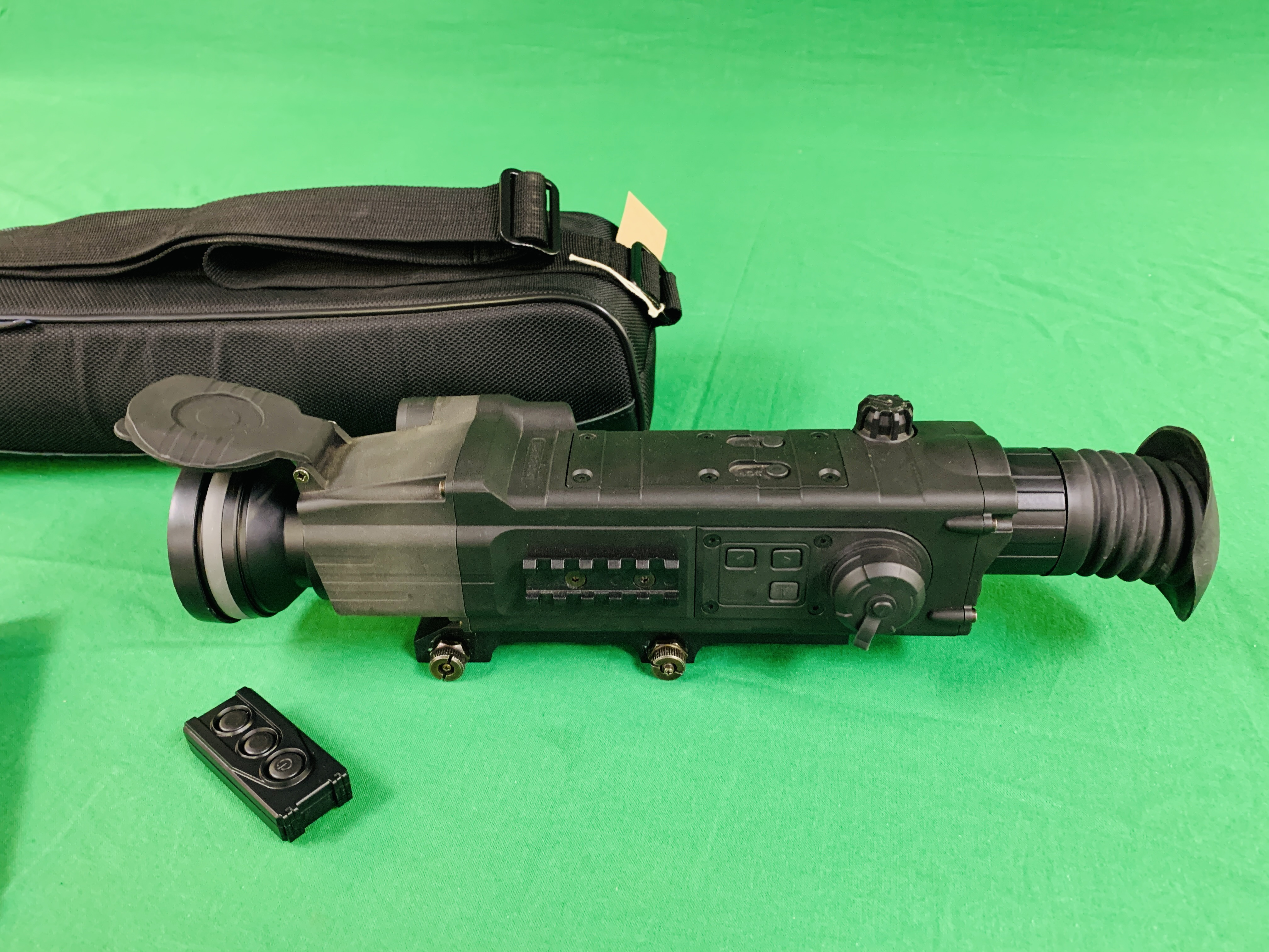 PULSAR N750 DIGI SIGHT RIFLE SCOPE COMPLETE WITH SONY TELE CONVERSION LENS ALONG WITH INSTRUCTION - Image 5 of 8