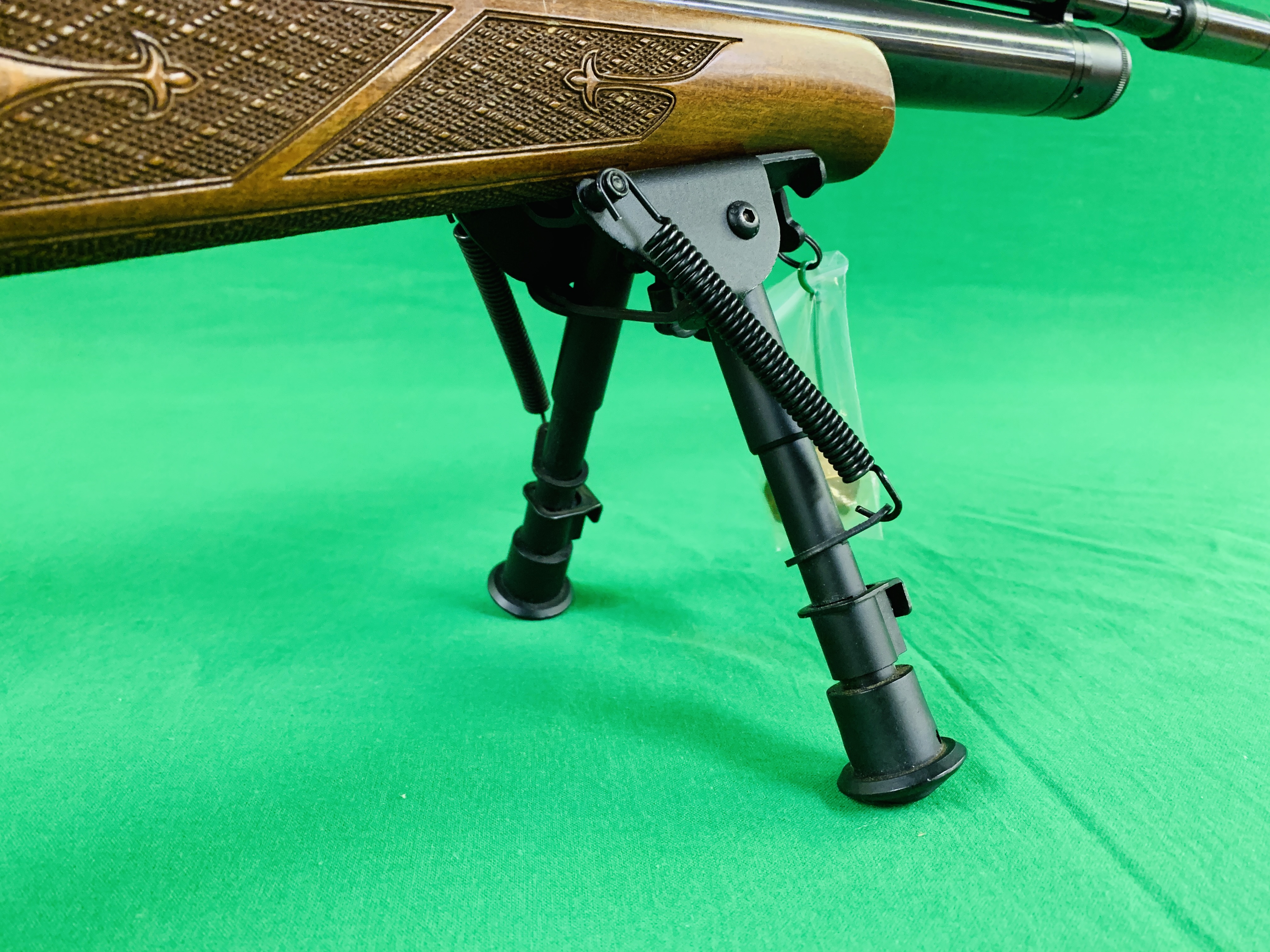 AIR ARMS S400 CLASSIC .177 BOLT ACTION PCP AIR RIFLE FITTED WITH BONUS 6. - Image 13 of 17