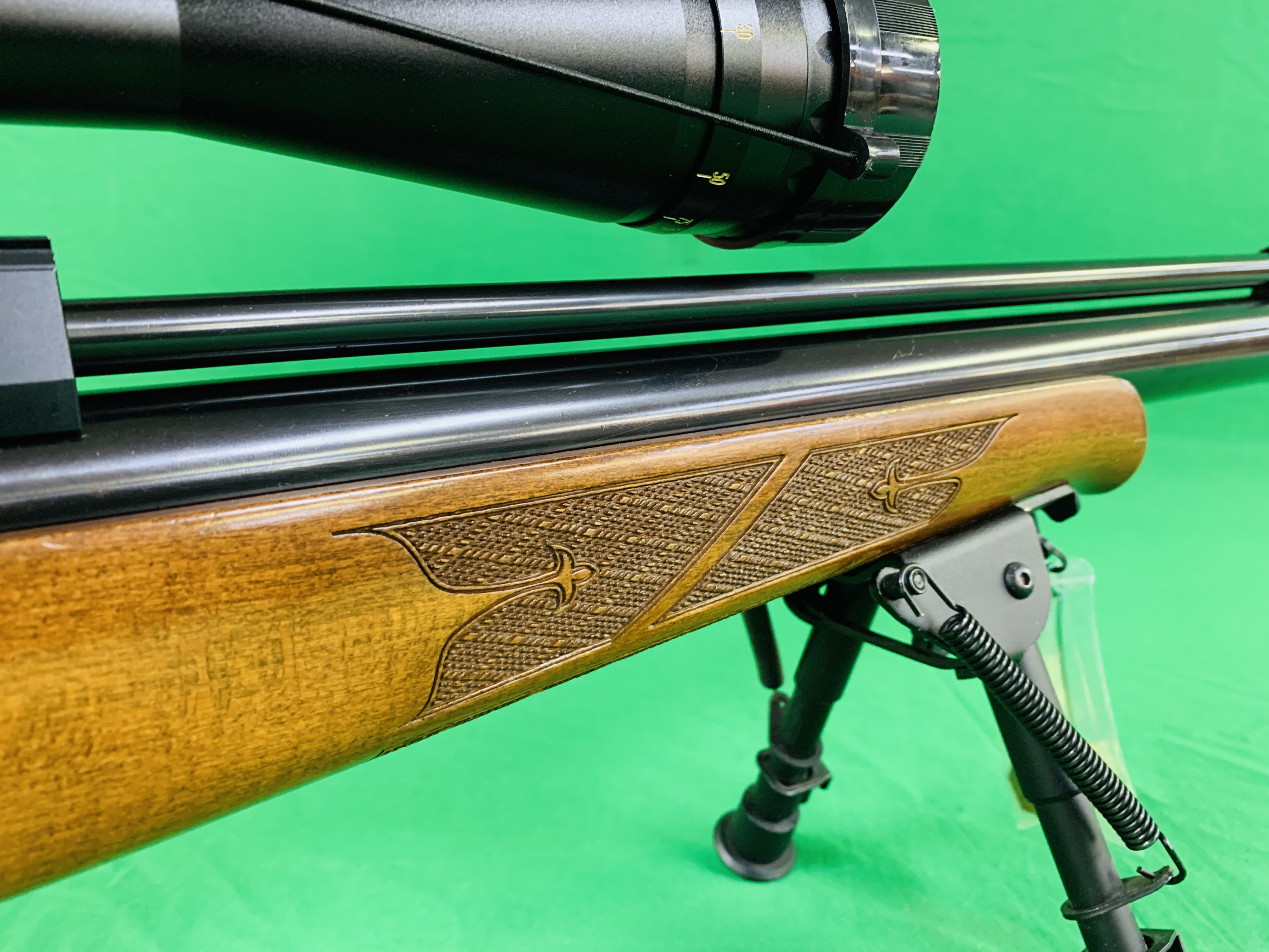 AIR ARMS S400 CLASSIC .177 BOLT ACTION PCP AIR RIFLE FITTED WITH BONUS 6. - Image 14 of 17