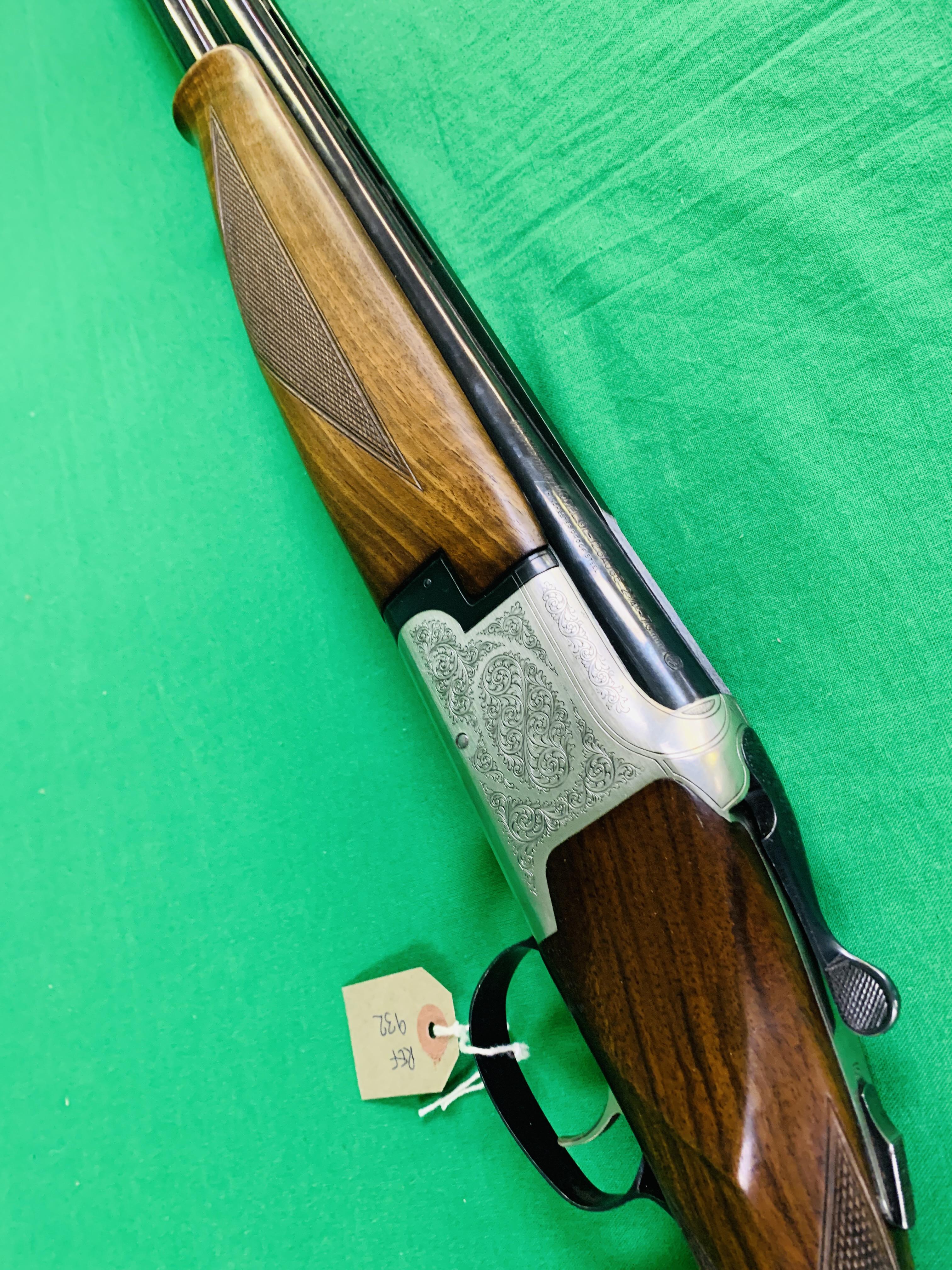 WINCHESTER MODEL 91 12 BORE OVER AND UNDER SHOTGUN # 232623 28 INCH BARRELS, - Image 7 of 8