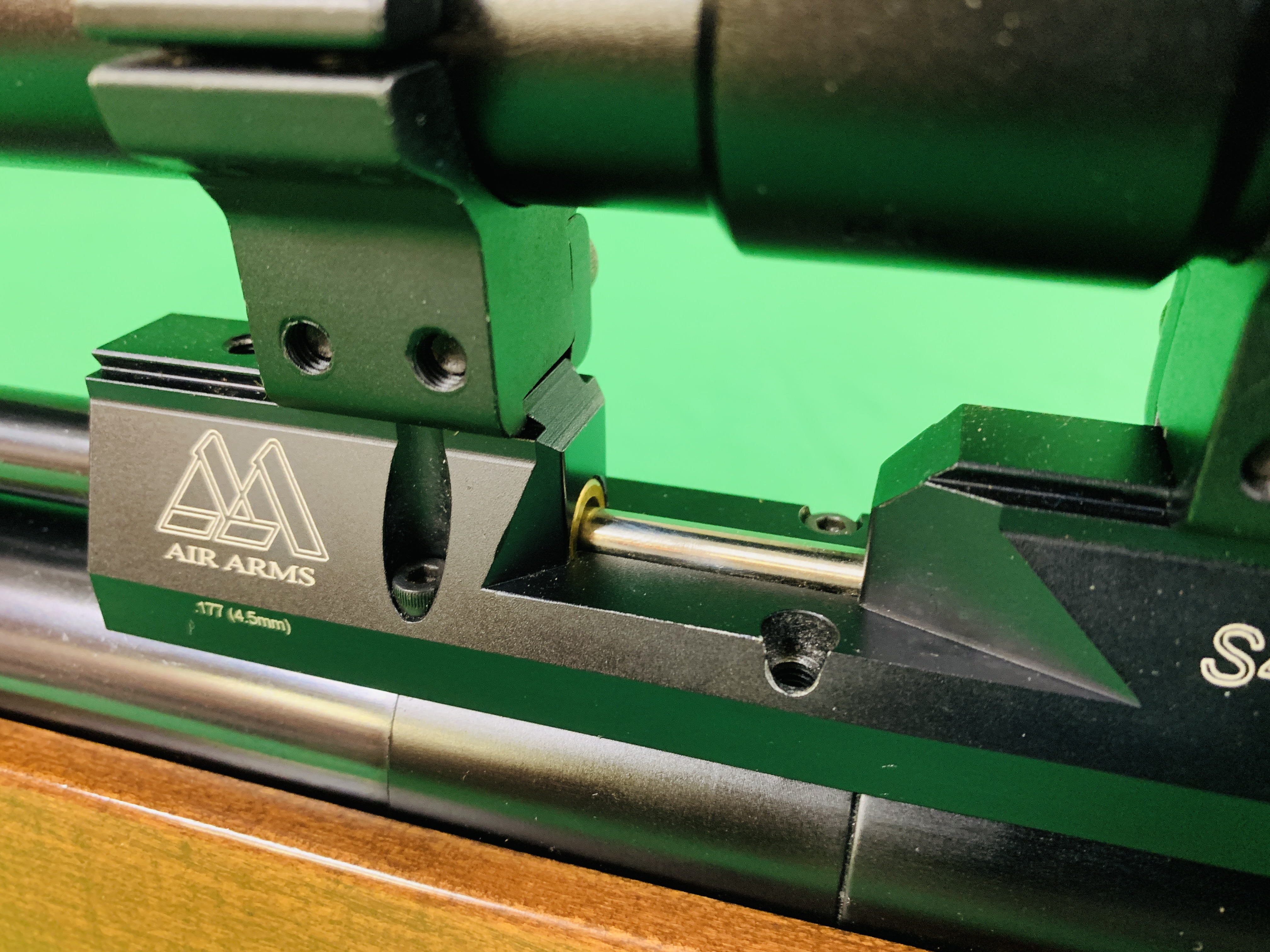 AIR ARMS S400 CLASSIC .177 BOLT ACTION PCP AIR RIFLE FITTED WITH BONUS 6. - Image 9 of 17