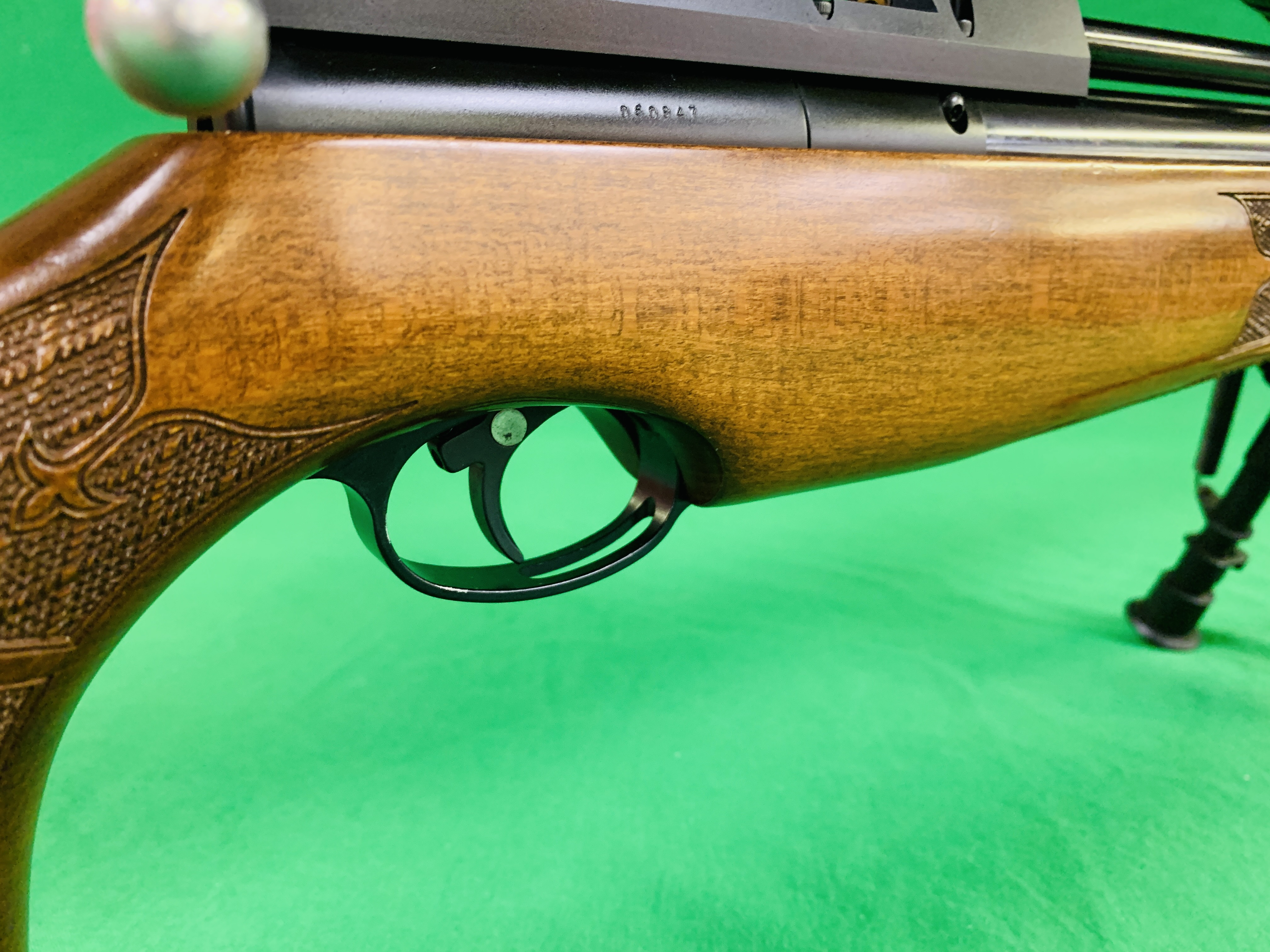 AIR ARMS S400 CLASSIC .177 BOLT ACTION PCP AIR RIFLE FITTED WITH BONUS 6. - Image 12 of 17