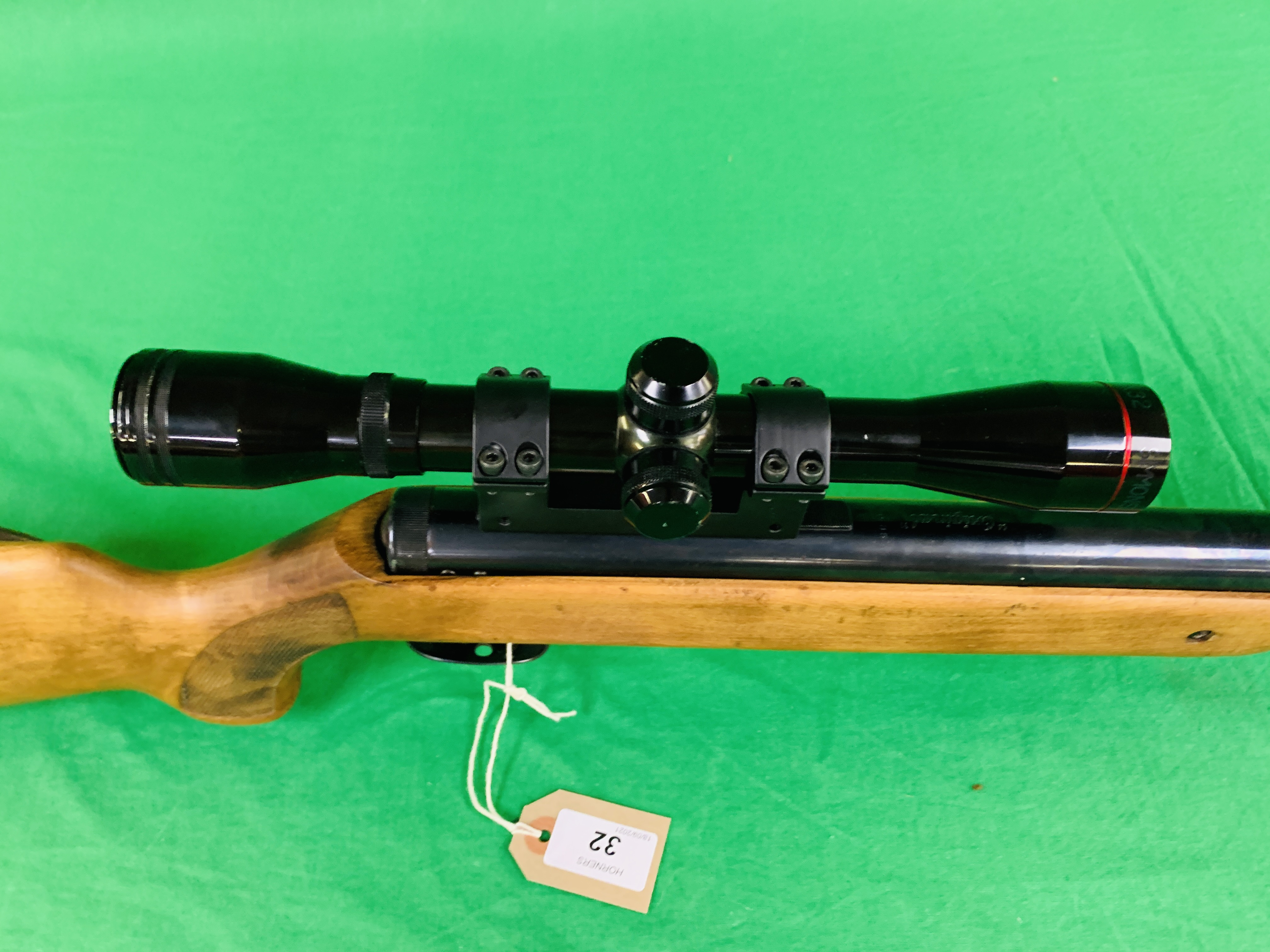 """AN """"ORIGINAL"""" MODEL 35 .22 BREAK BARREL AIR RIFLE FITTED WITH SIMMONS 4. - Image 7 of 10"""